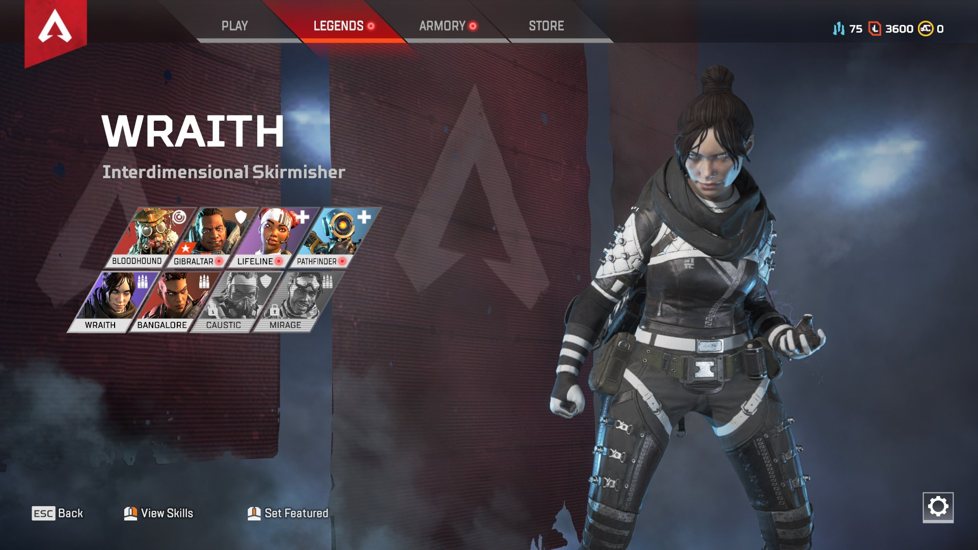Apex Legends character abilities Wraith