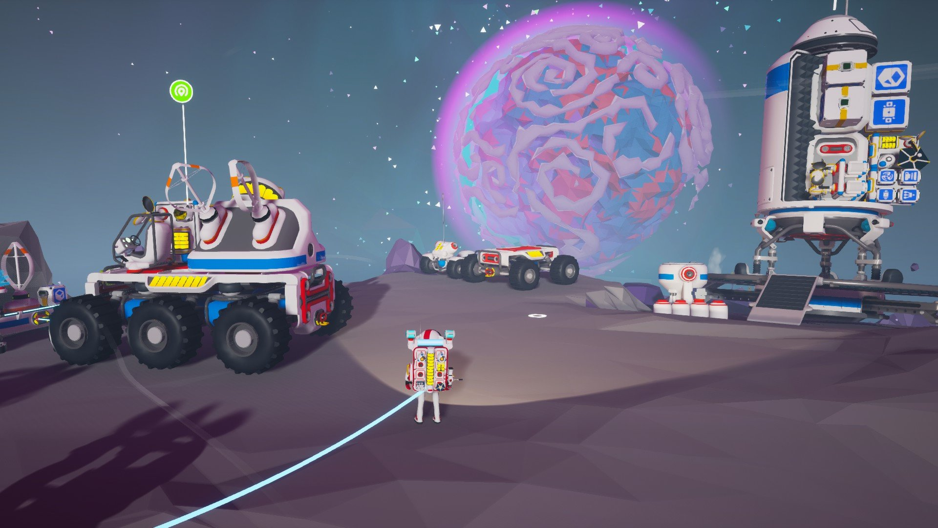 Astroneer planetary resources list Vesania