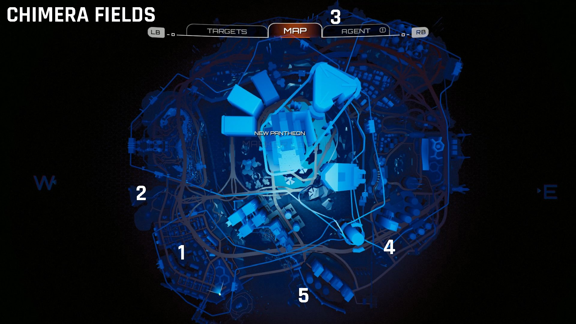 Crackdown 3 Chimera field locations map