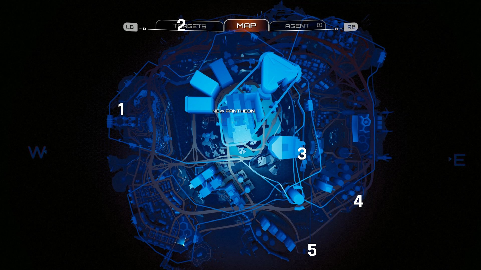 Crackdown 3 Containment Sites locations map