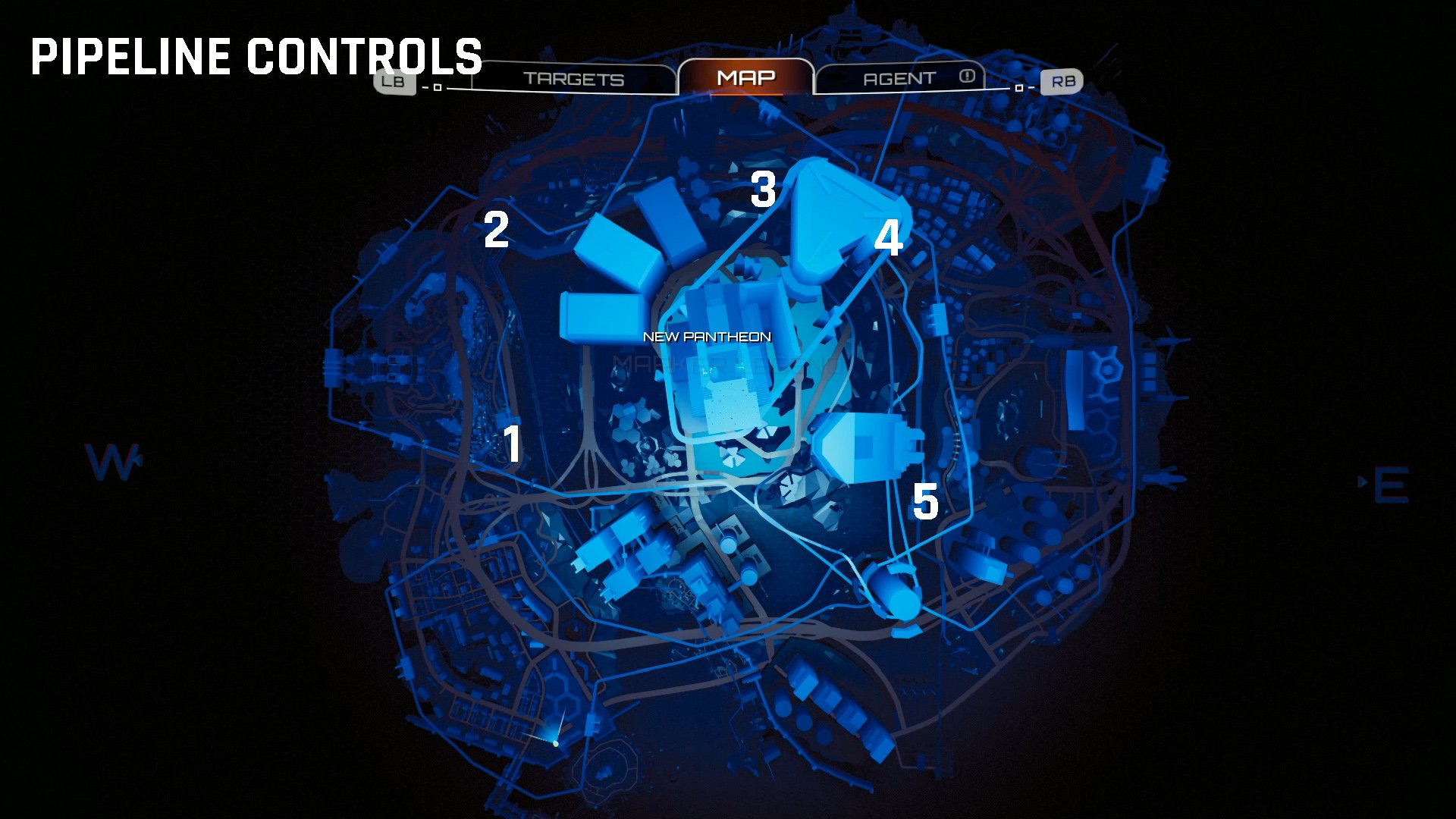 Crackdown 3 Pipeline Control locations map