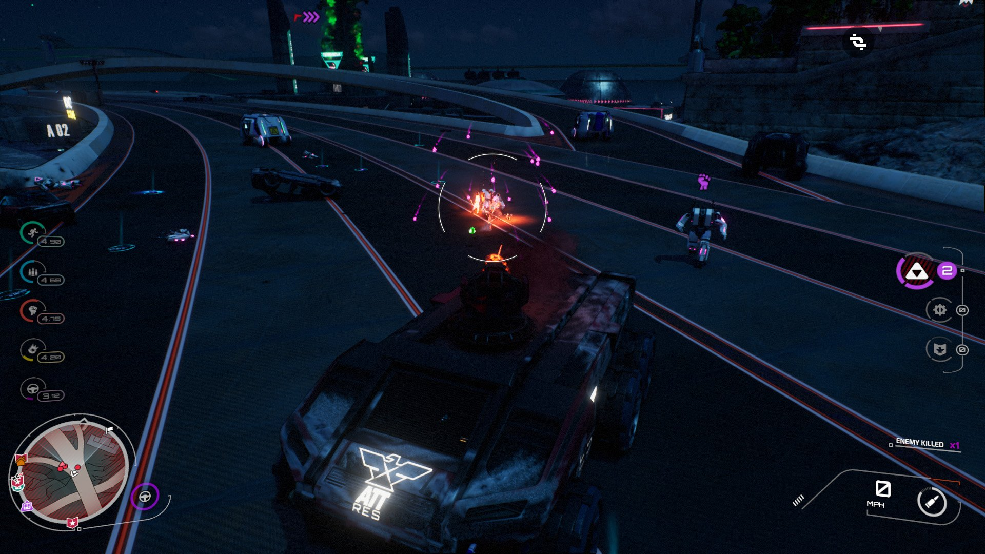 Crackdown 3's vehicles pale in comparison to the original's.