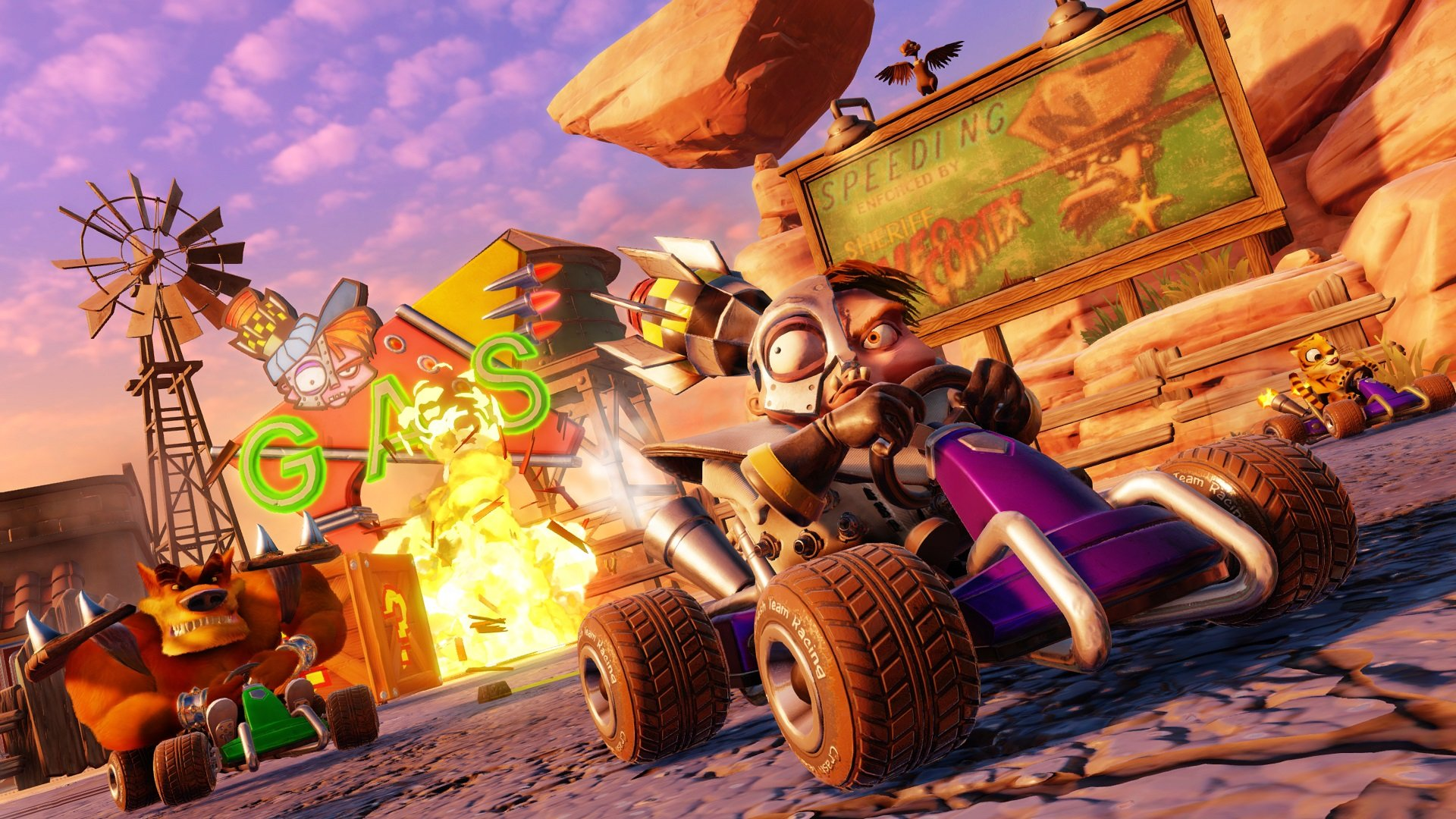 Crash Team Racing: Nitro-Fueled preview