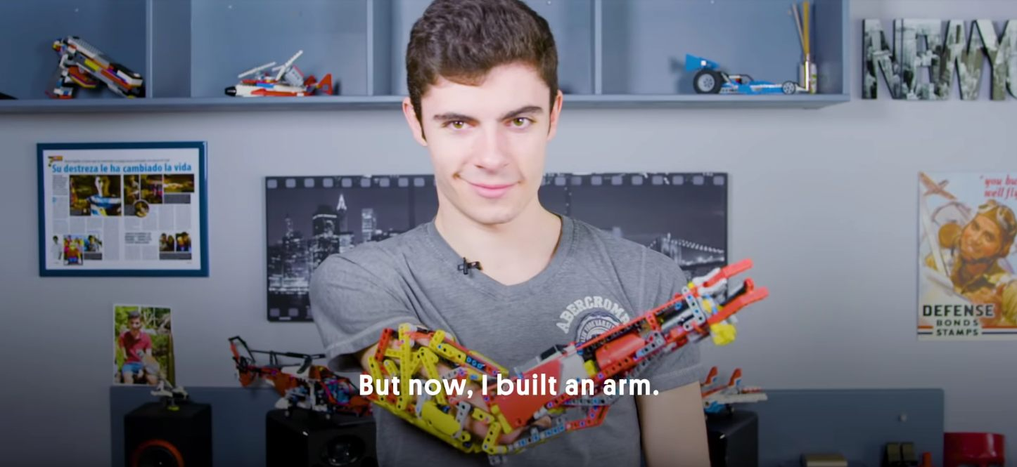 David Aguilar lego prosthetic technic