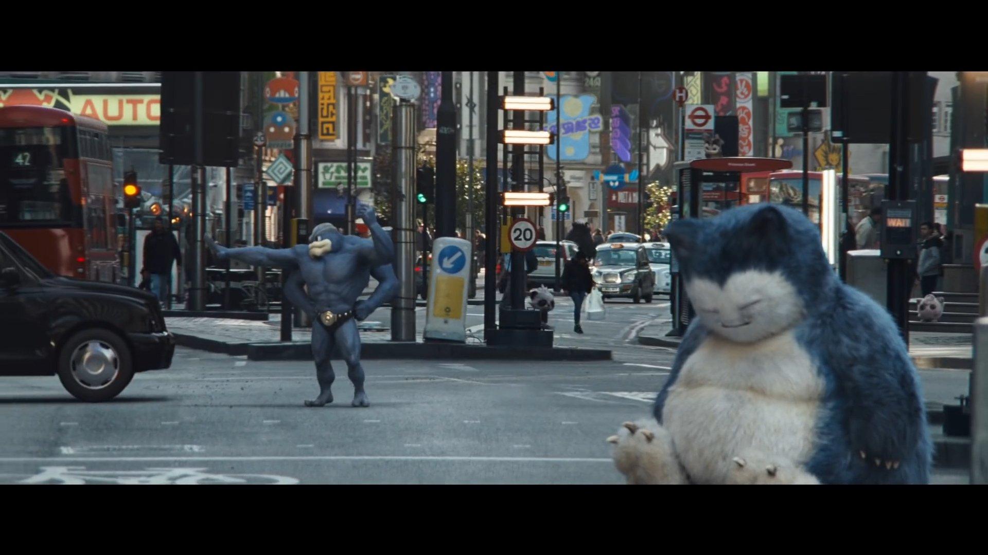 Machamp in Detective Pikachu