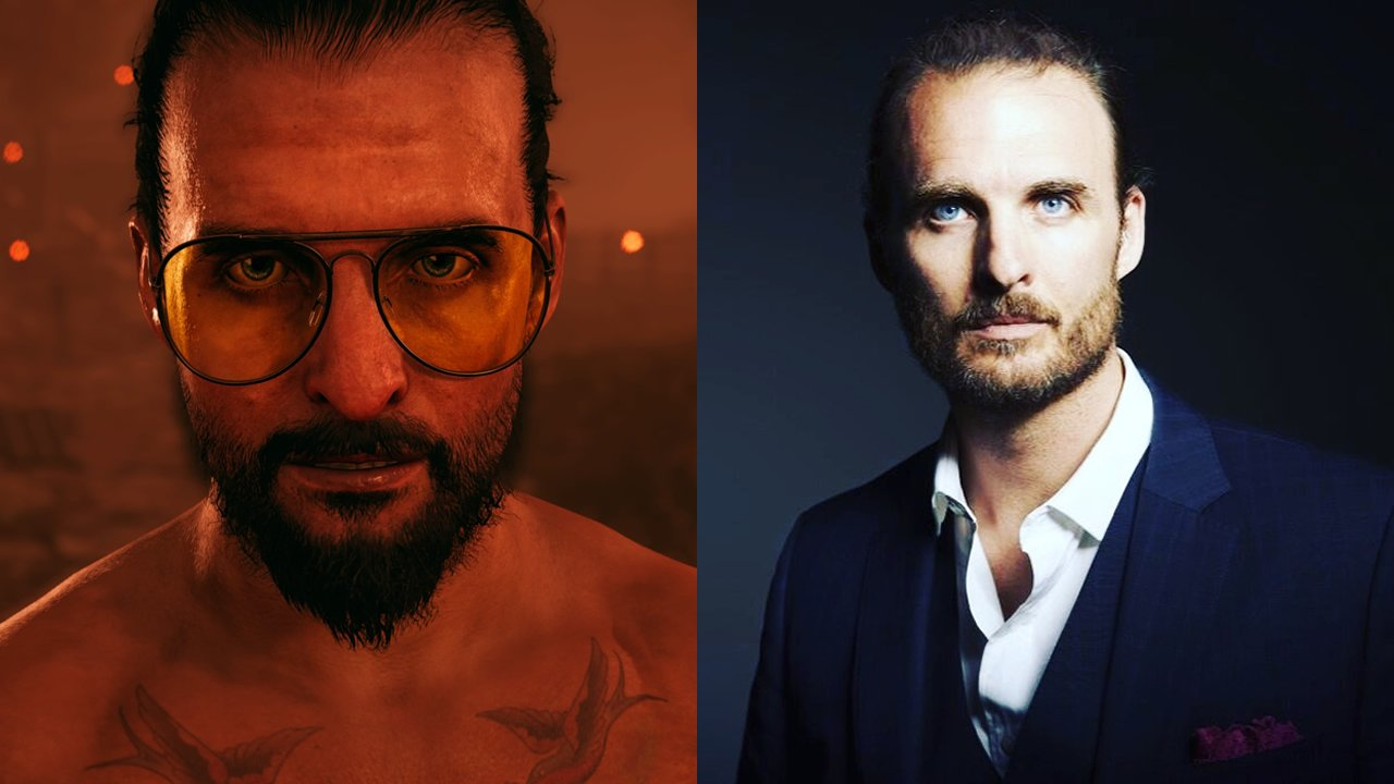 "Greg Bryk voices ""The Father"" Joseph Seed"