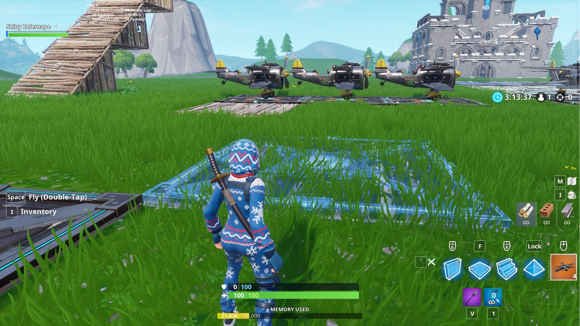 how to place devices in Fortnite Creative Mode