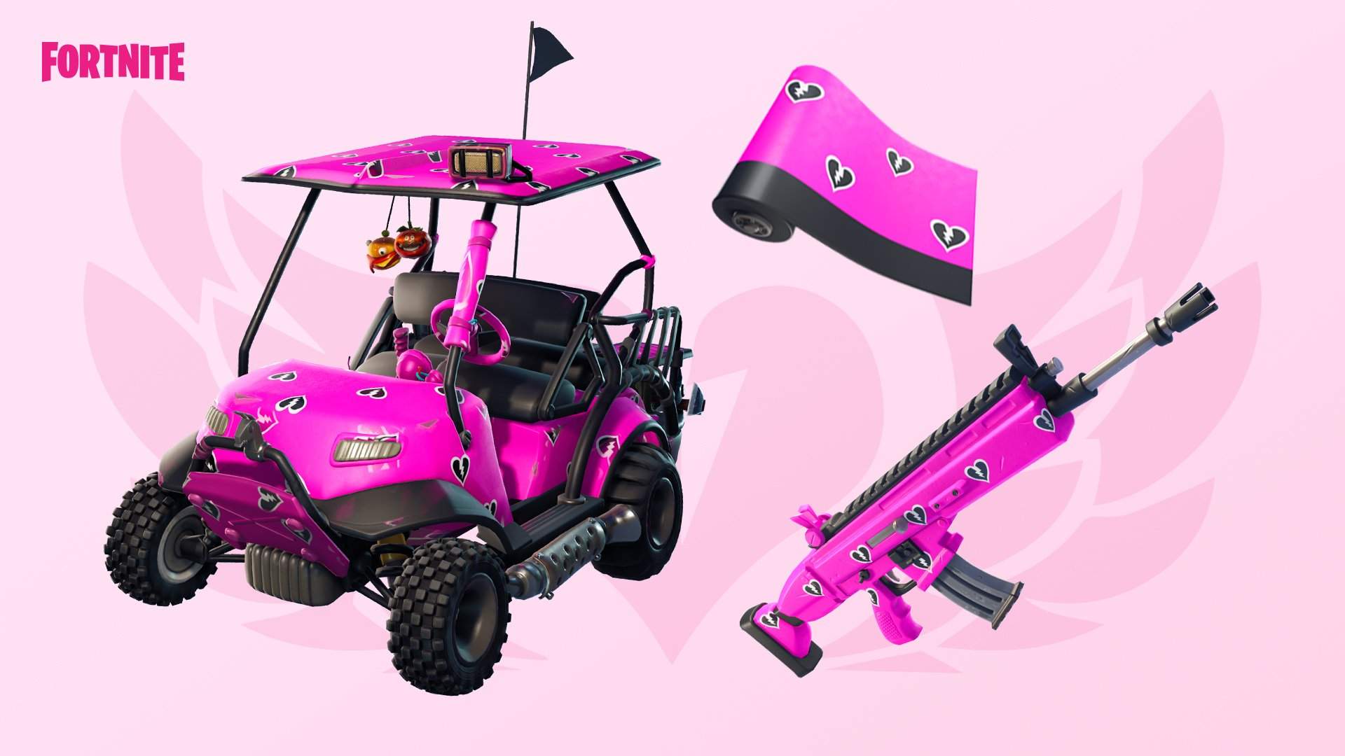 New Valetine Wraps are coming to Fortnite