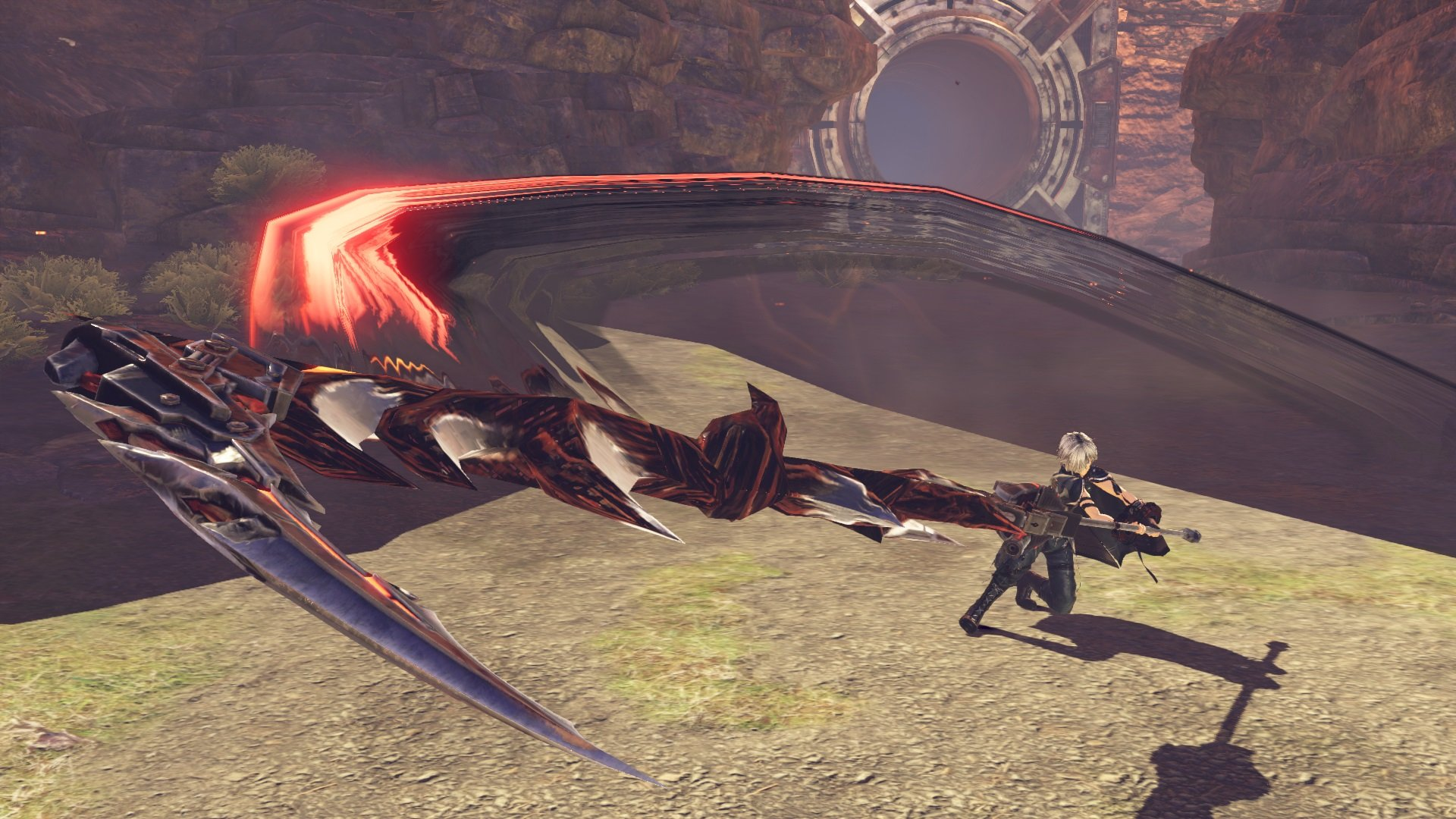 God Eater attacking with a God Arc