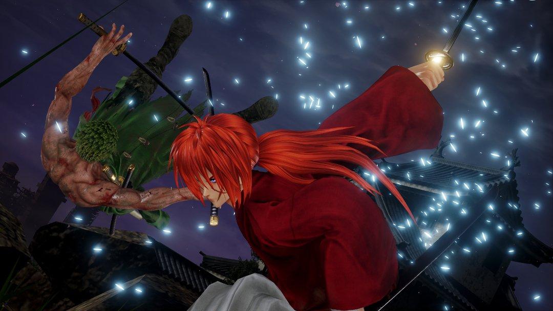 Jump Force Rurouni Kenshin attacks