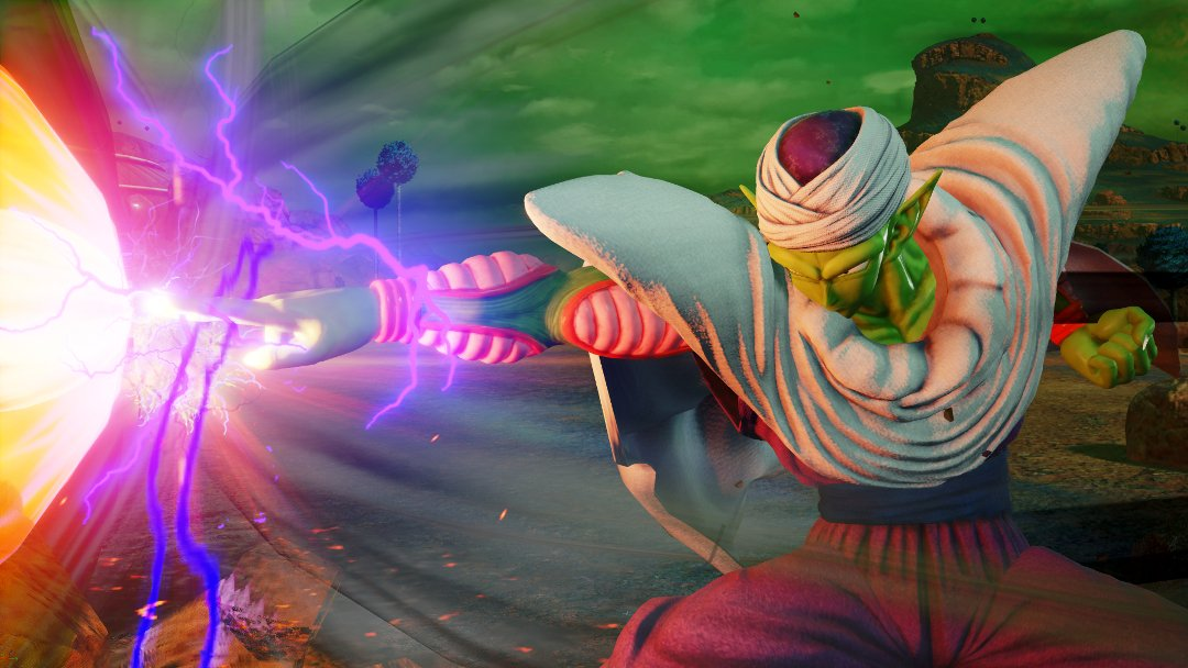 Jump Force Piccolo Laser Beam