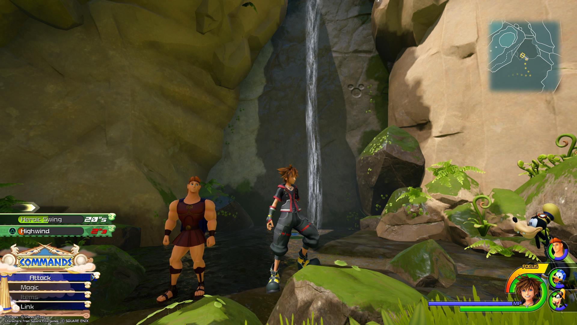 Kingdom Hearts 3 - Olympus Lucky Emblem 1