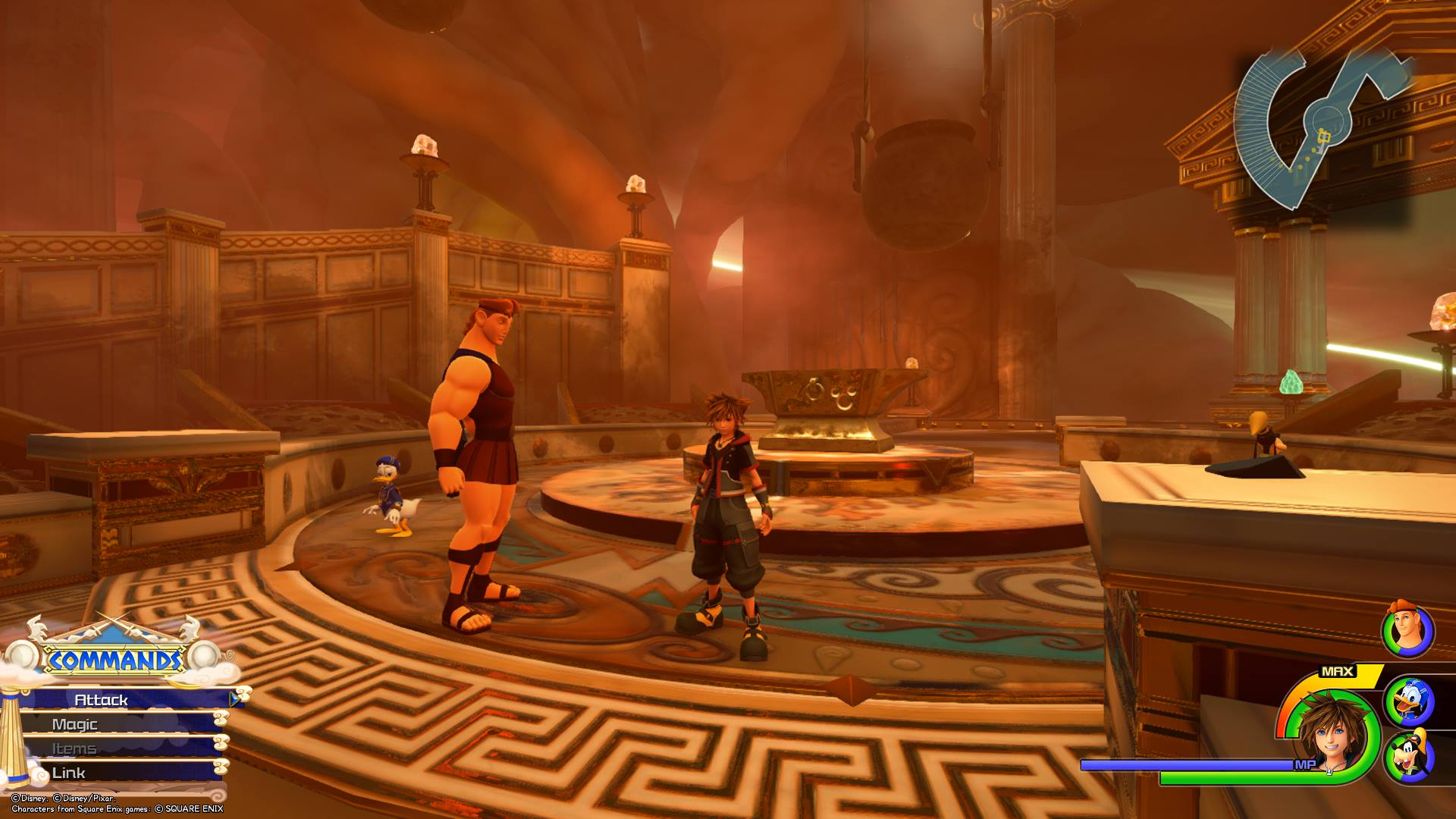 Kingdom Hearts 3 - Olympus Lucky Emblem 10