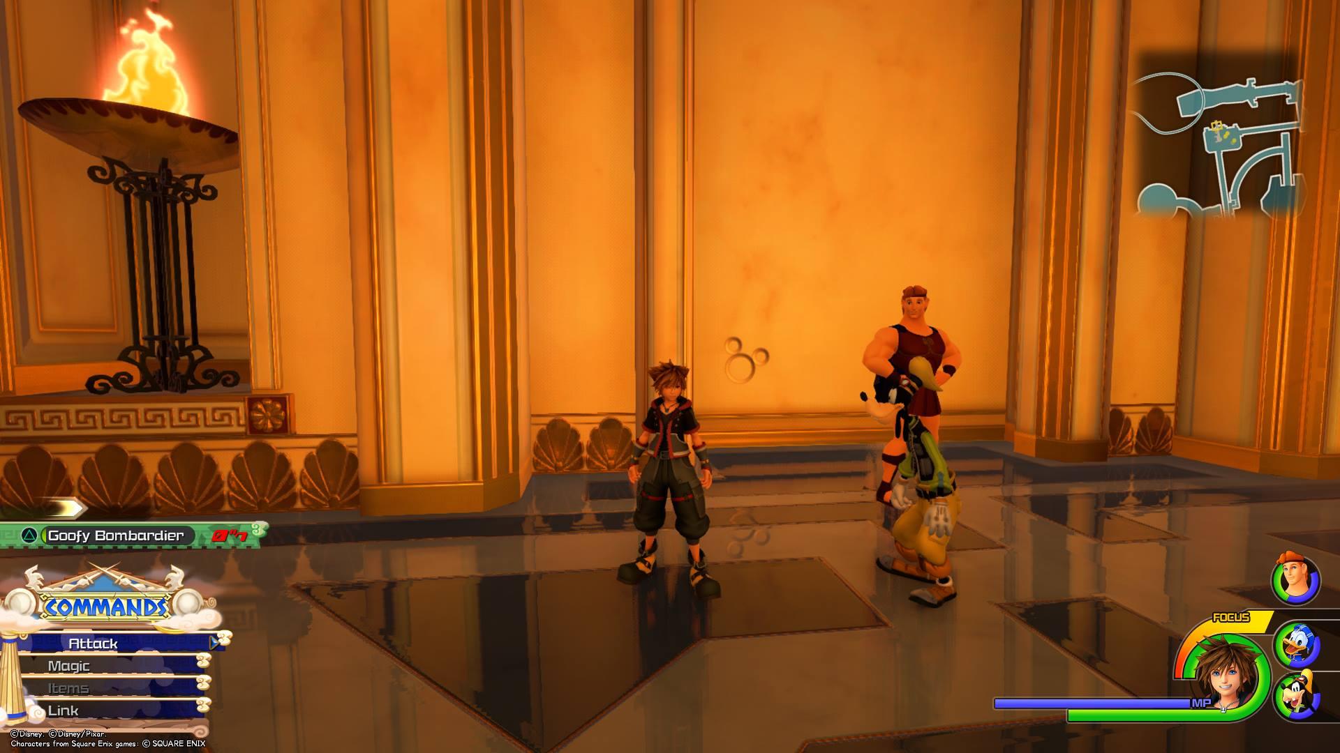 Kingdom Hearts 3 - Olympus Lucky Emblem 11