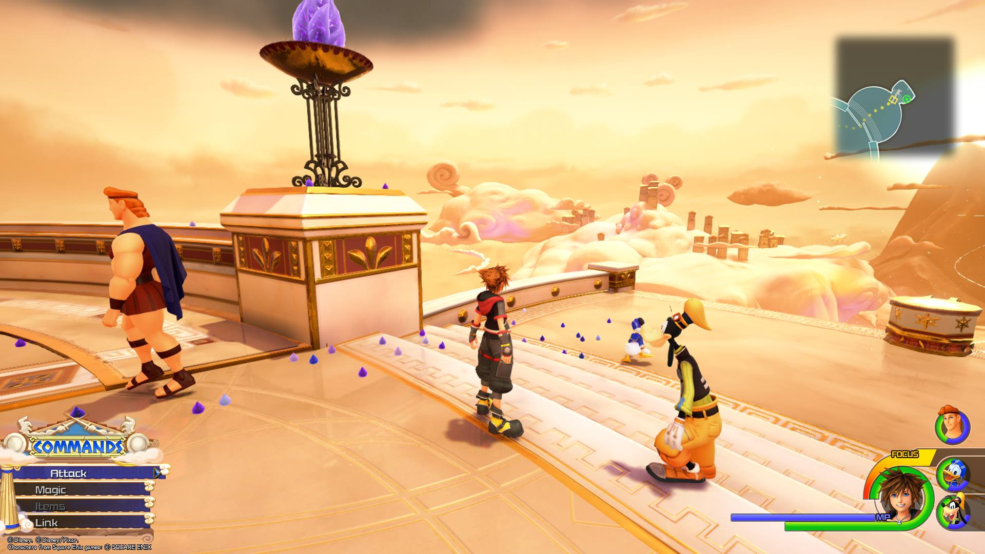Kingdom Hearts 3 - Olympus Lucky Emblem 12