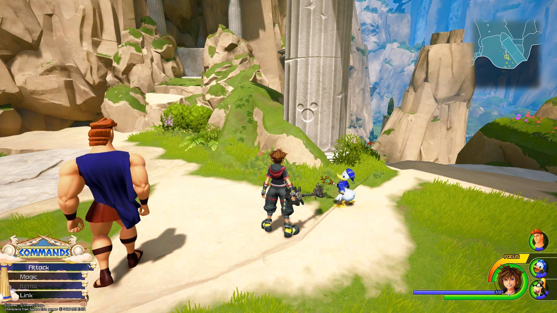 Kingdom Hearts 3 - Olympus Lucky Emblem 3