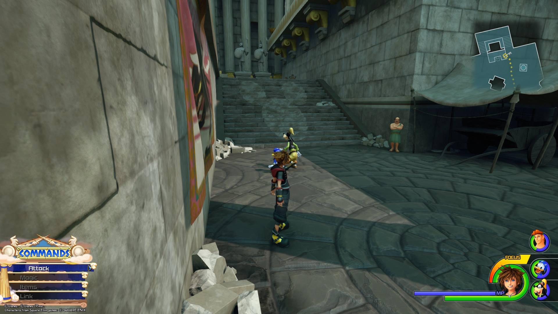 Kingdom Hearts 3 - Olympus Lucky Emblem 5