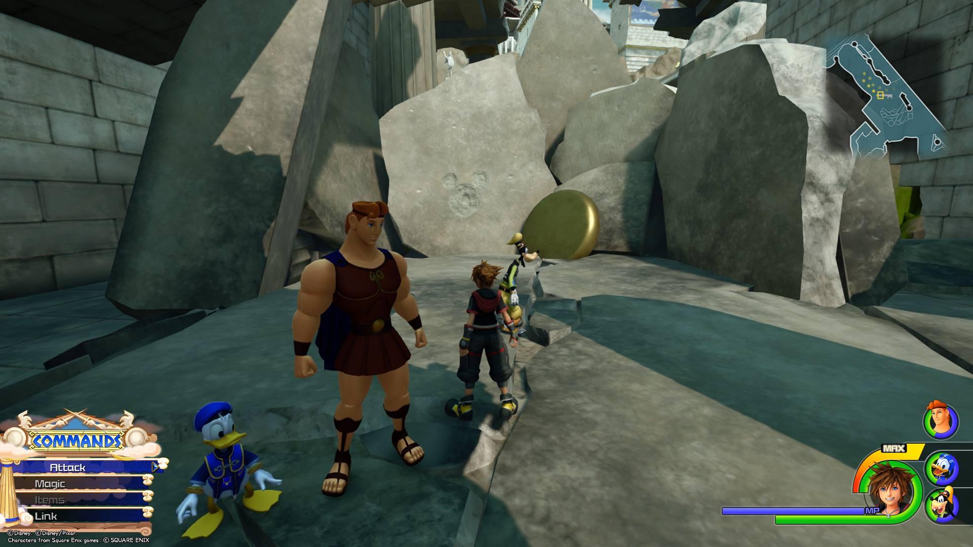 Kingdom Hearts 3 - Olympus Lucky Emblem 6