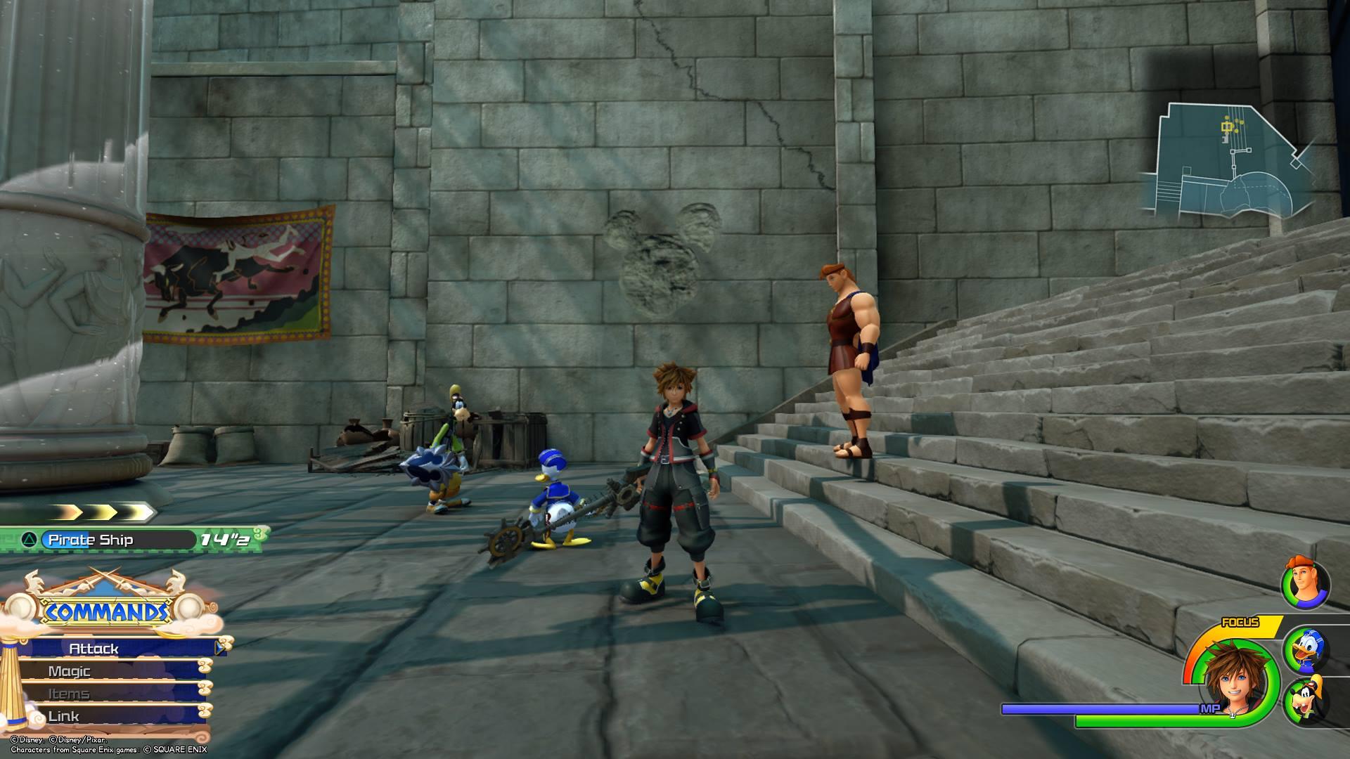 Kingdom Hearts 3 - Olympus Lucky Emblem 7