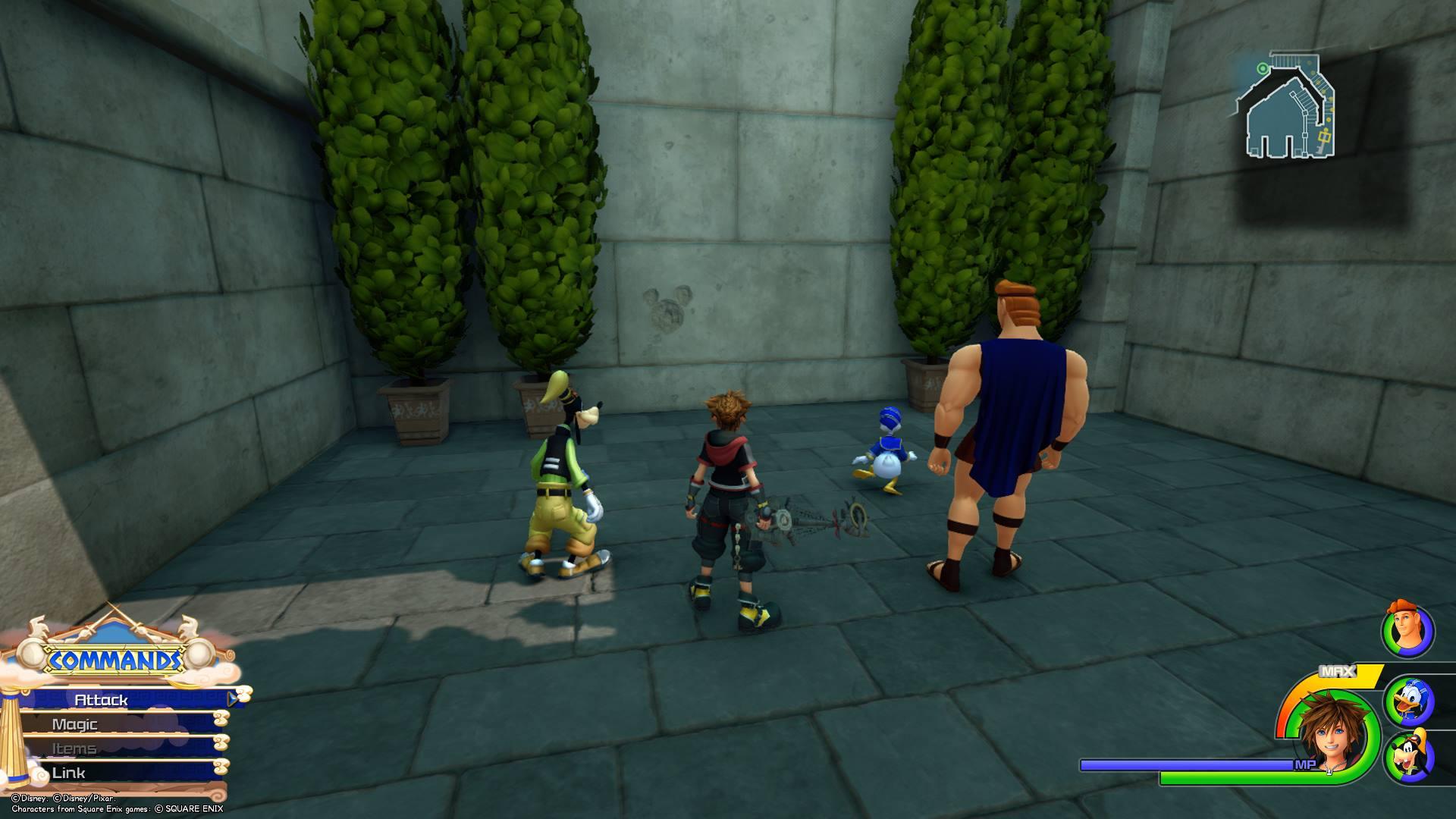 Kingdom Hearts 3 - Olympus Lucky Emblem 8