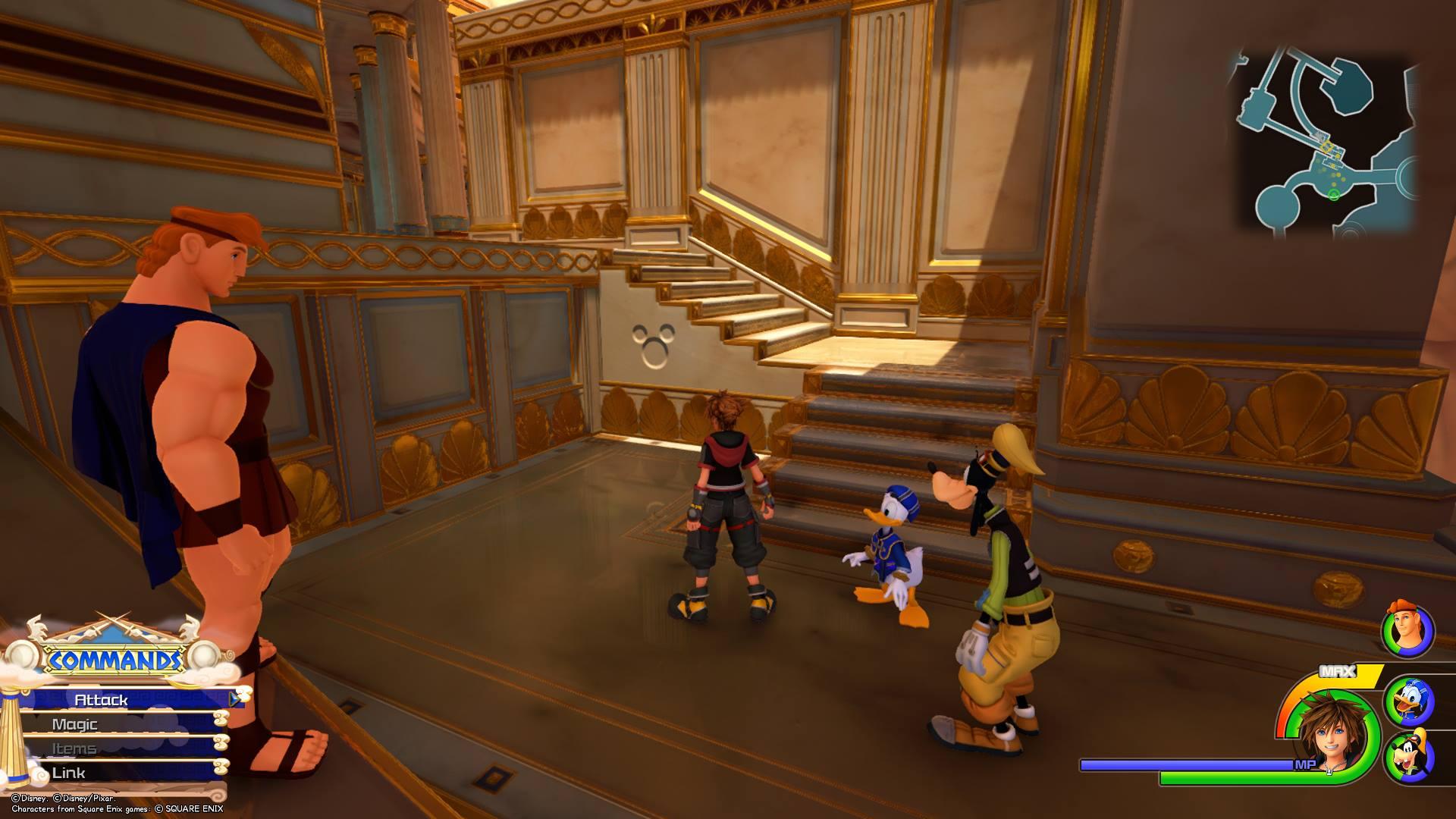 Kingdom Hearts 3 - Olympus Lucky Emblem 9
