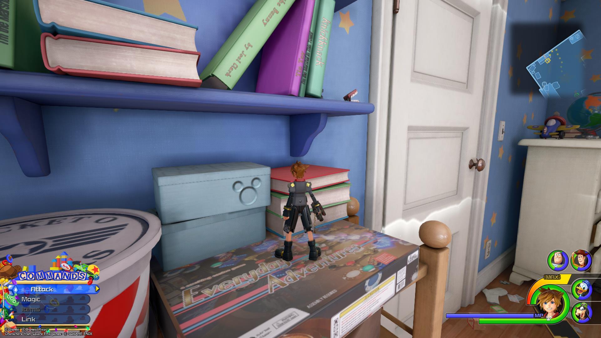 Kingdom Hearts 3 - Toy Box Lucky Emblem 1