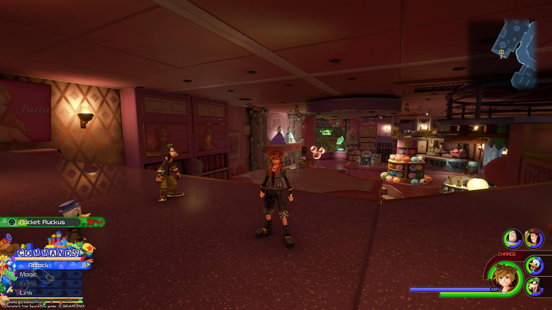Kingdom Hearts 3 - Toy Box Lucky Emblem 11