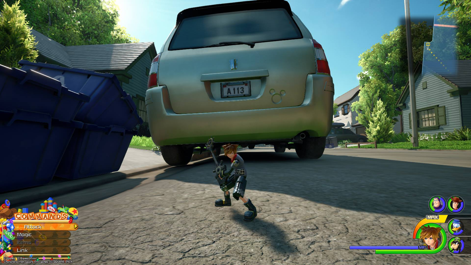 Kingdom Hearts 3 - Toy Box Lucky Emblem 4
