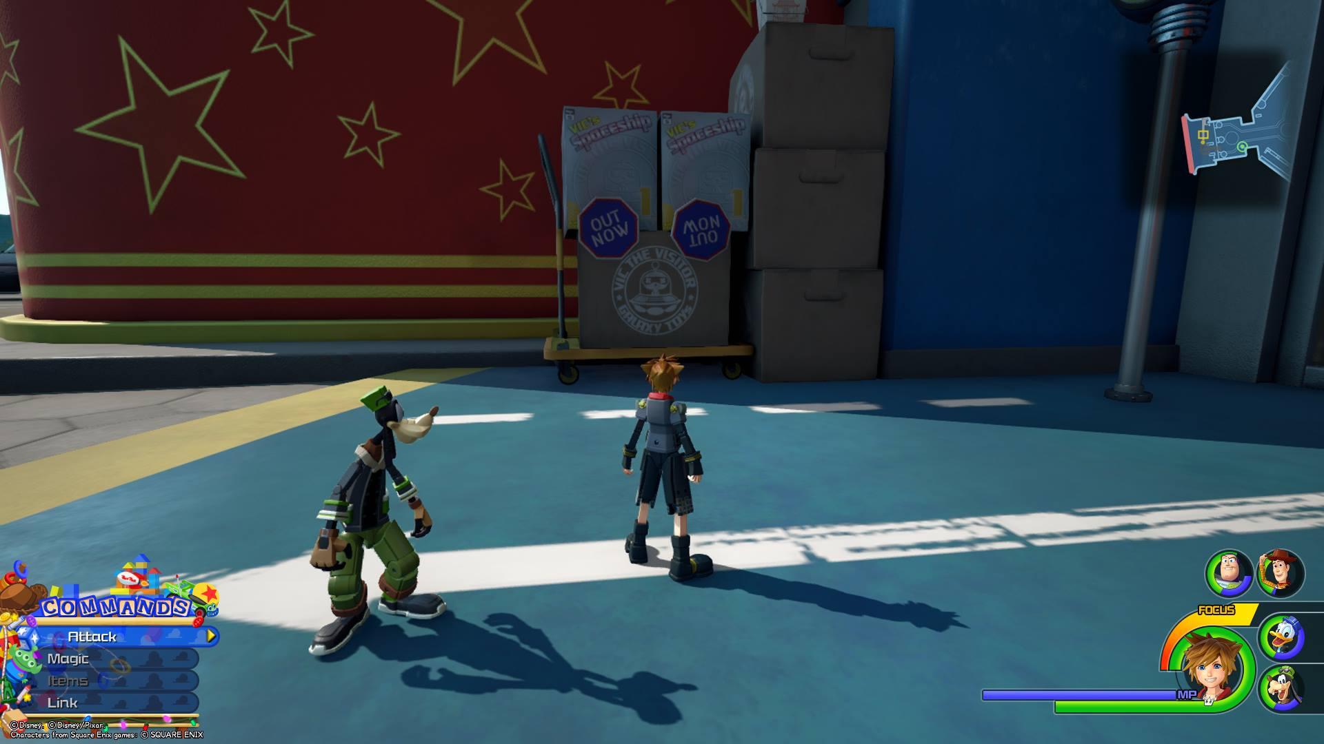 Kingdom Hearts 3 - Toy Box Lucky Emblem 5