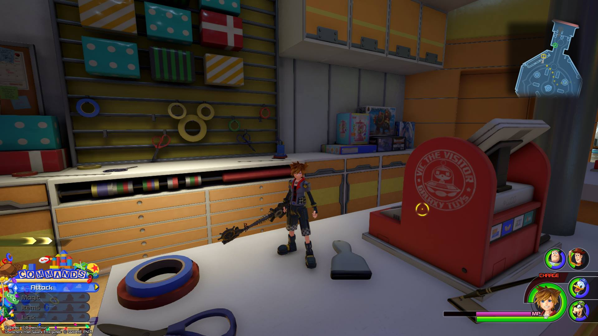 Kingdom Hearts 3 - Toy Box Lucky Emblem 6