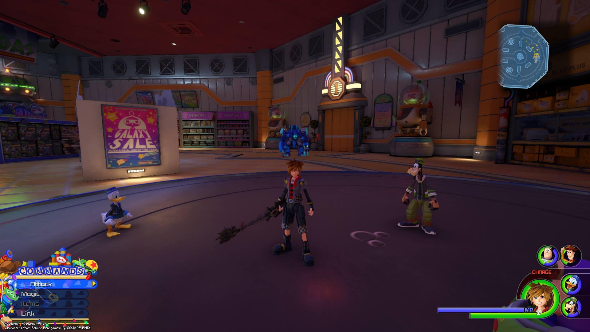 Kingdom Hearts 3 - Toy Box Lucky Emblem 7