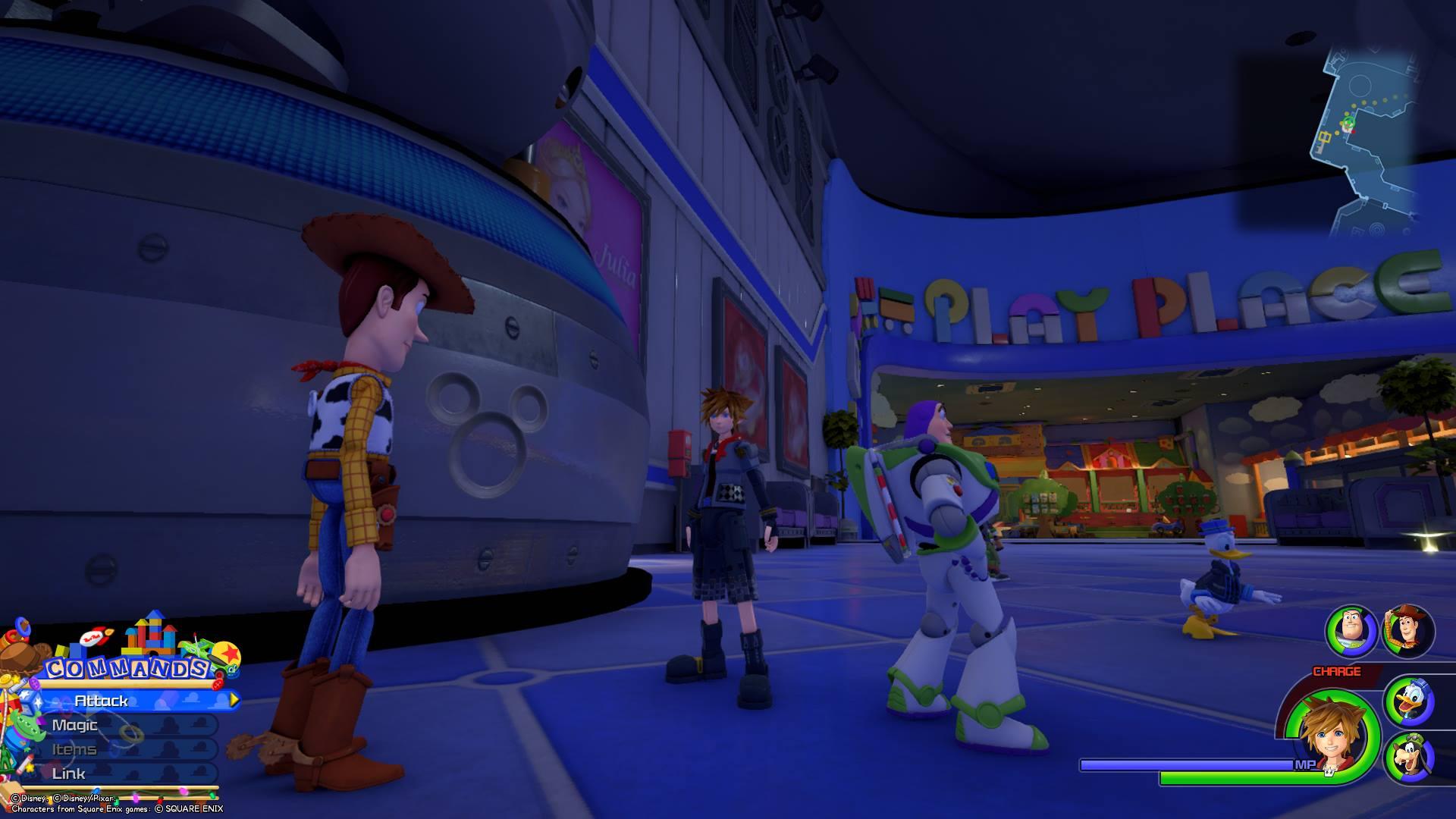 Kingdom Hearts 3 - Toy Box Lucky Emblem 8