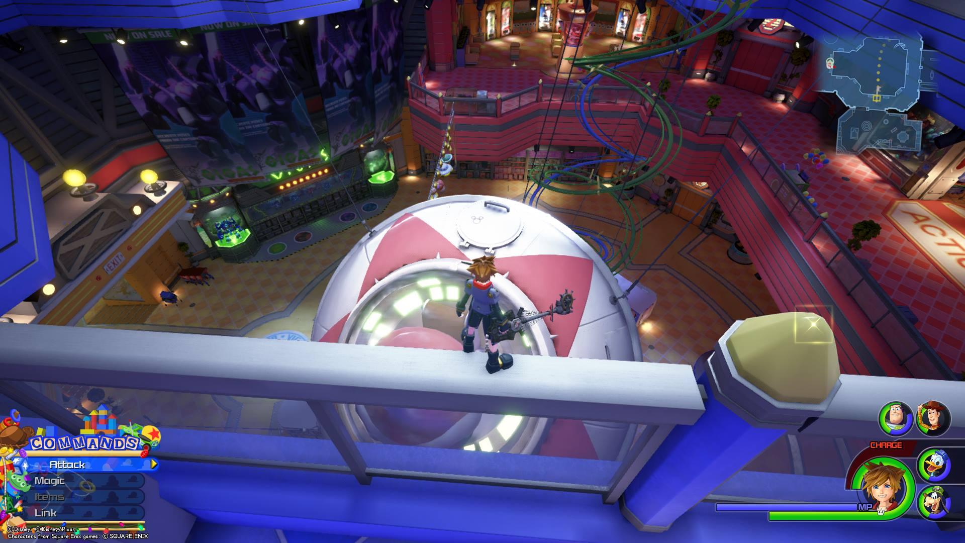 Kingdom Hearts 3 - Toy Box Lucky Emblem 9