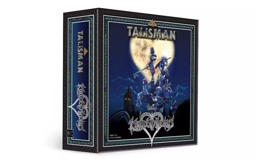 Talisman Kingdom Hearts Edition boardgame tabletop The OP Usaopoly