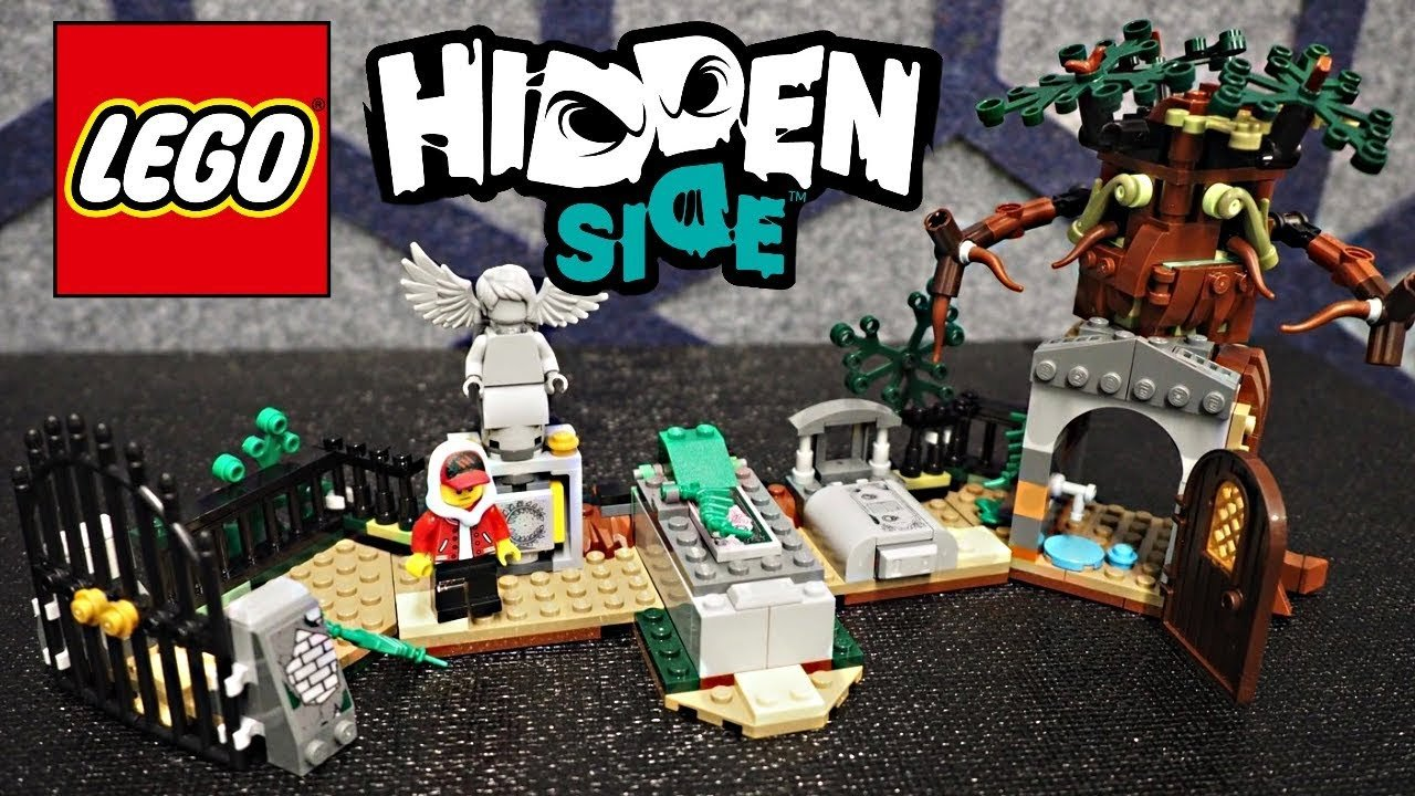 Lego Hidden Side playsets look pretty interesting.