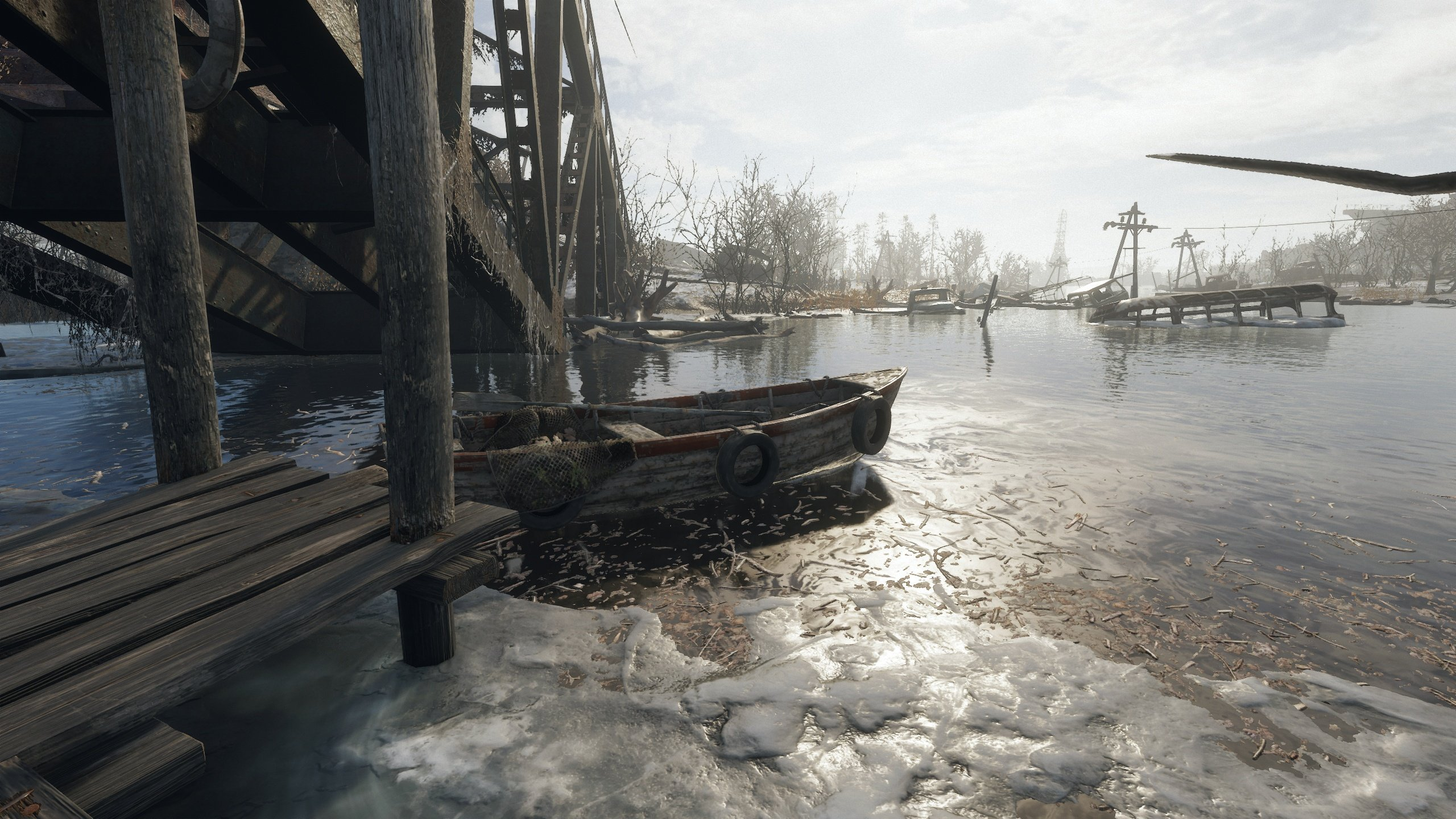 Metro Exodus open world exploration