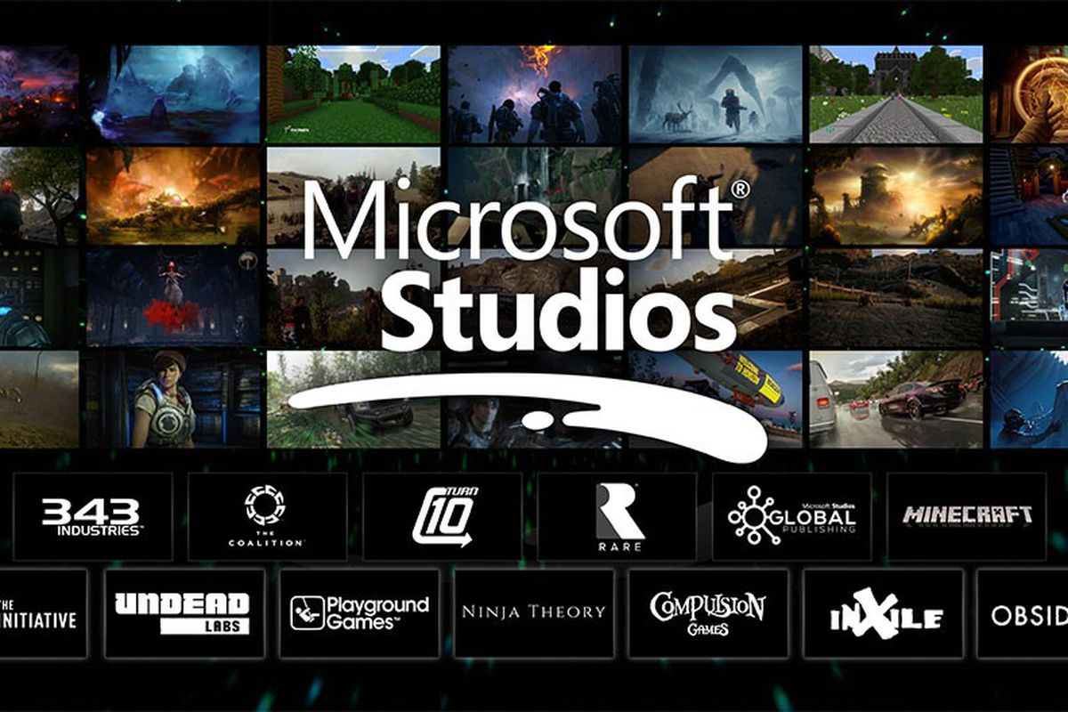 Microsoft Studios' old logo.