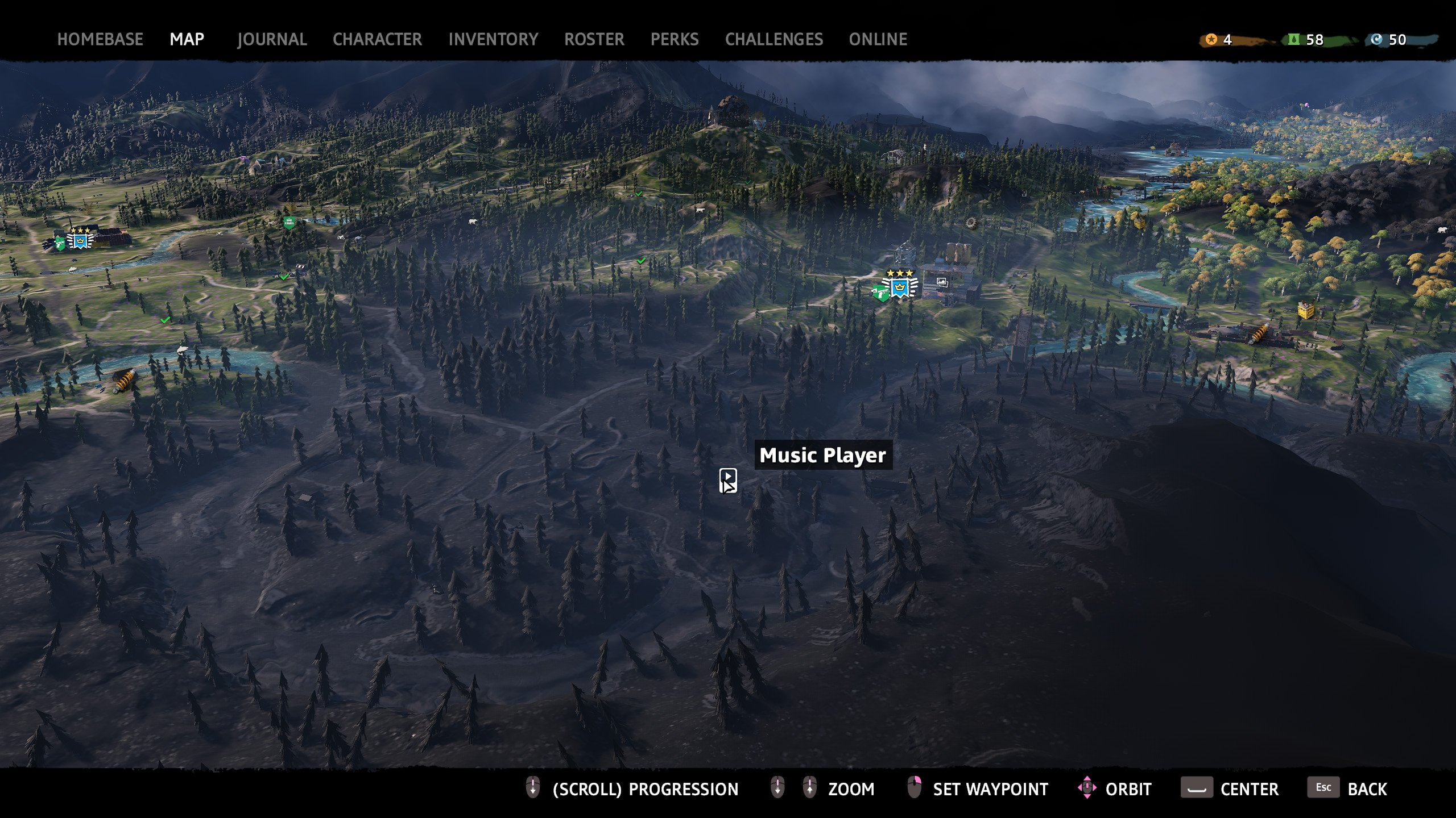 far cry new dawn music player 4 map