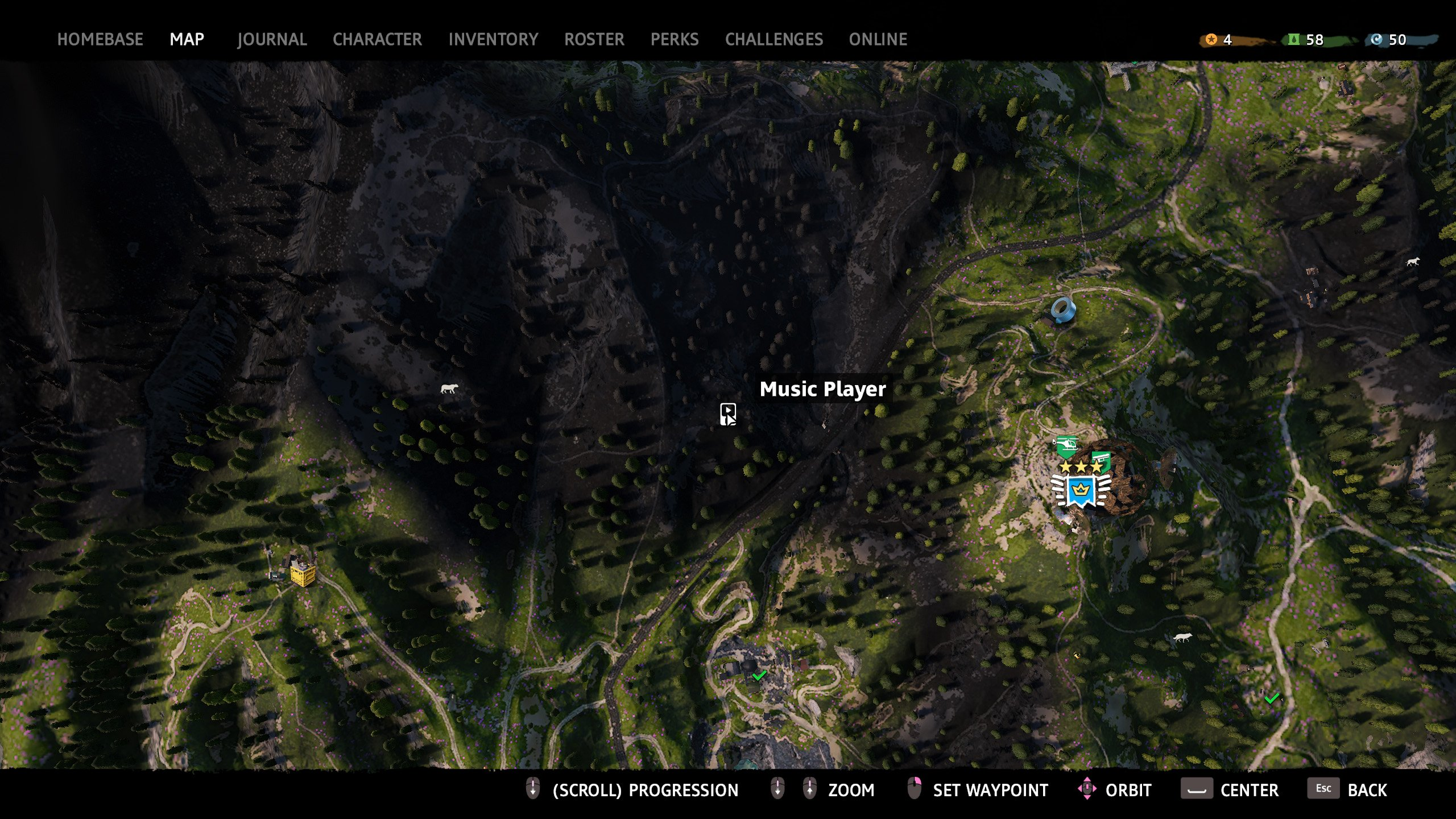far cry new dawn music player 5 map