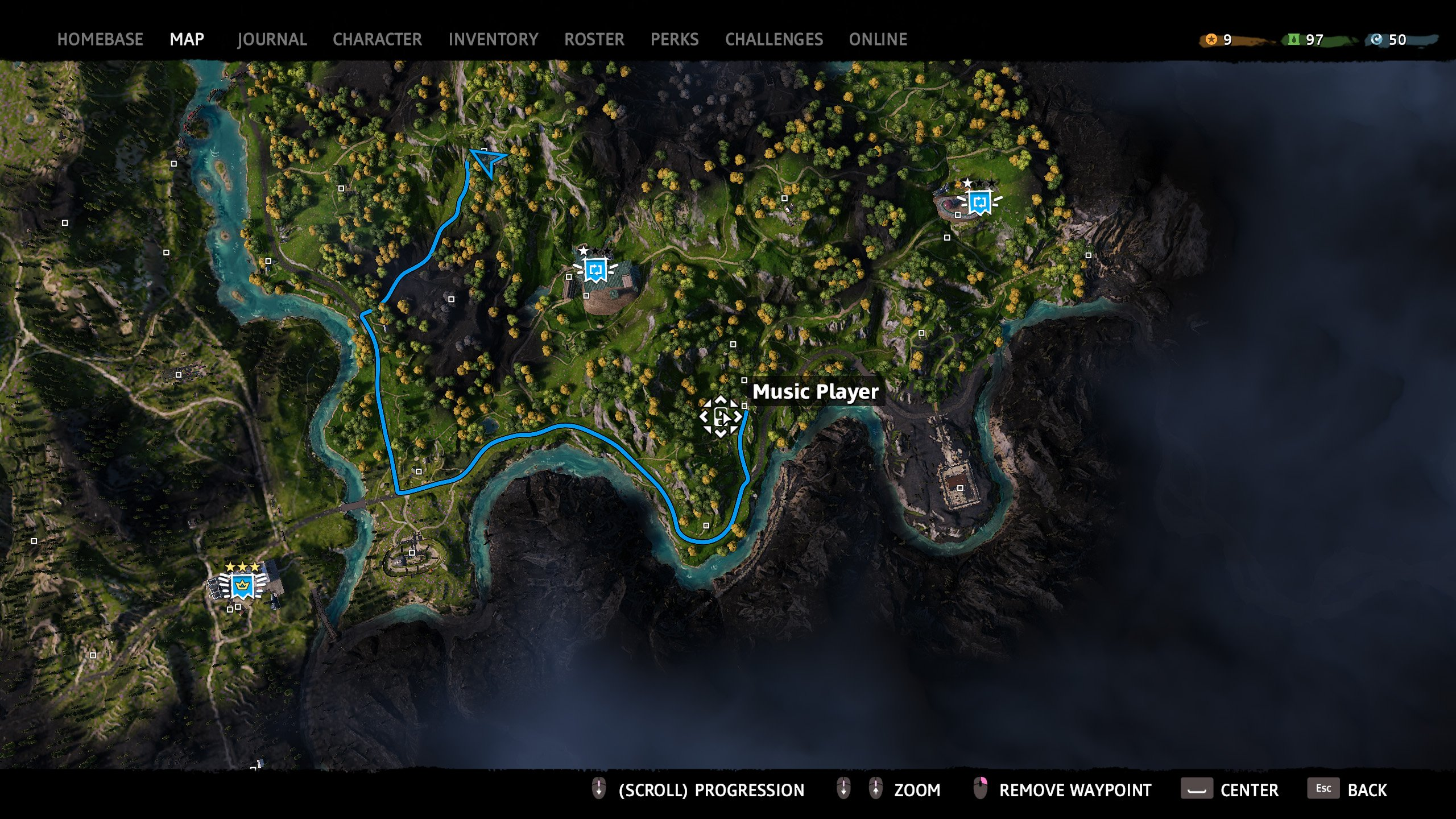 far cry new dawn audiophile locations map