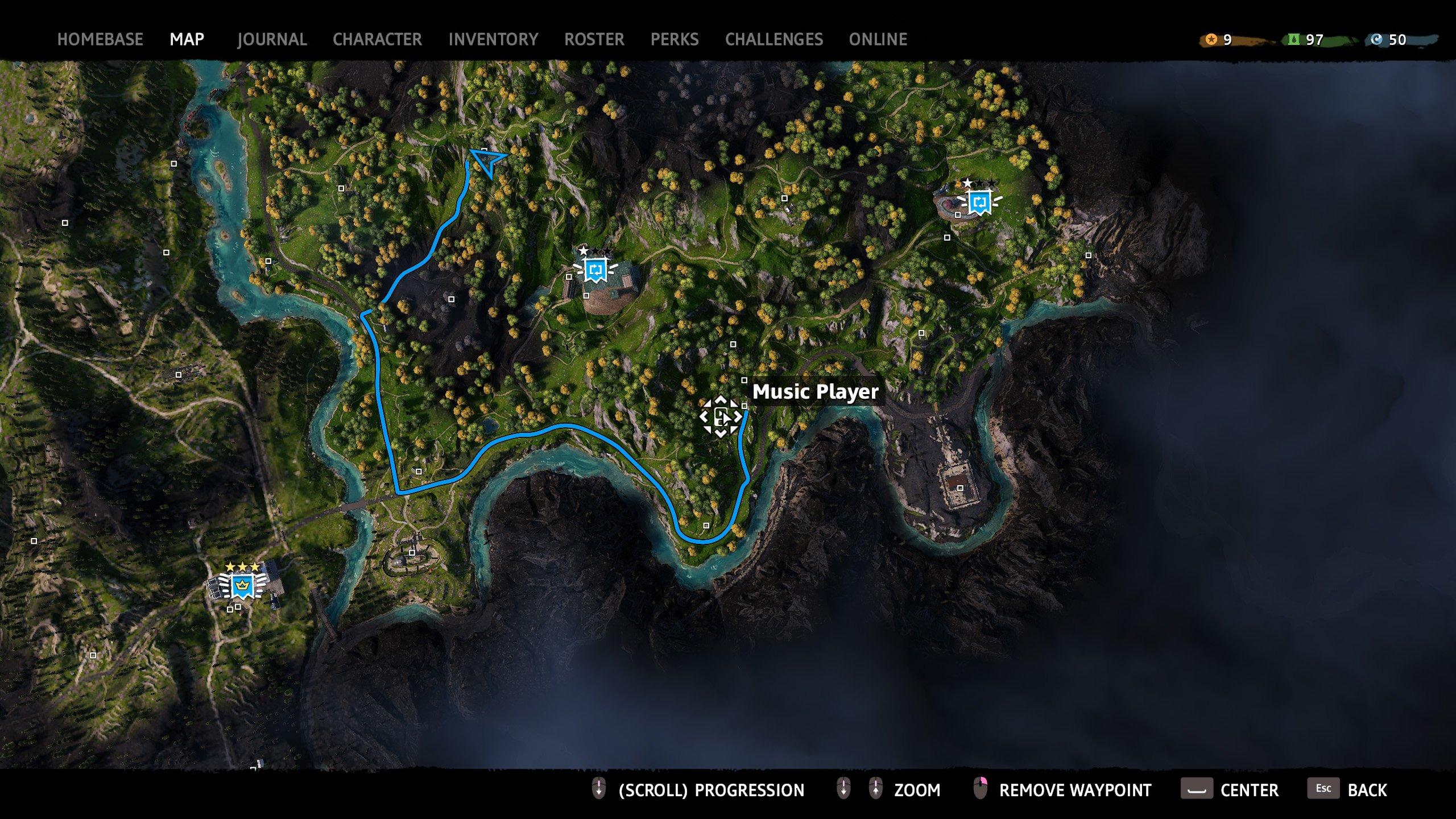 far cry new dawn music player 8 map