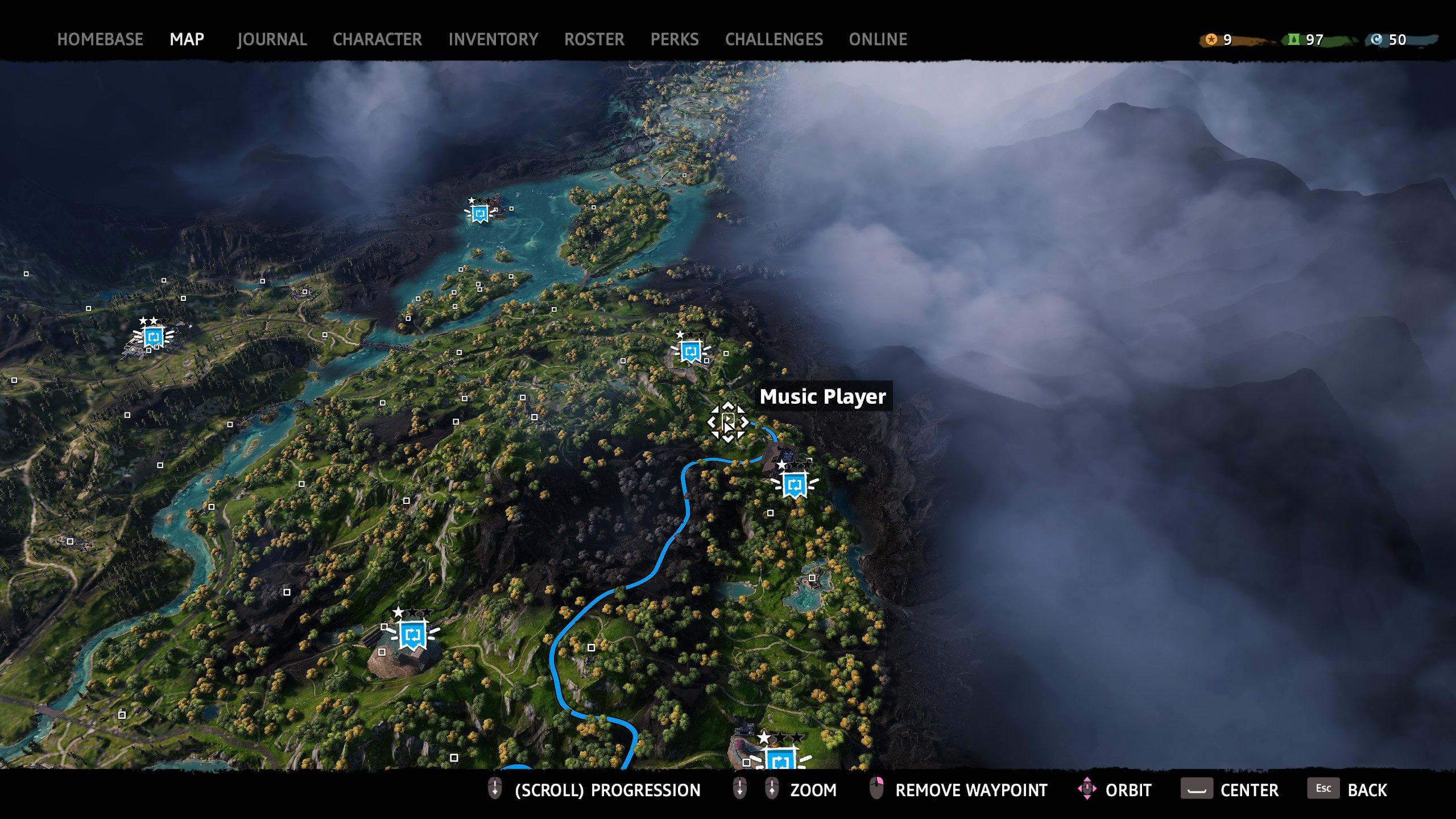 far cry new dawn music player 9 map