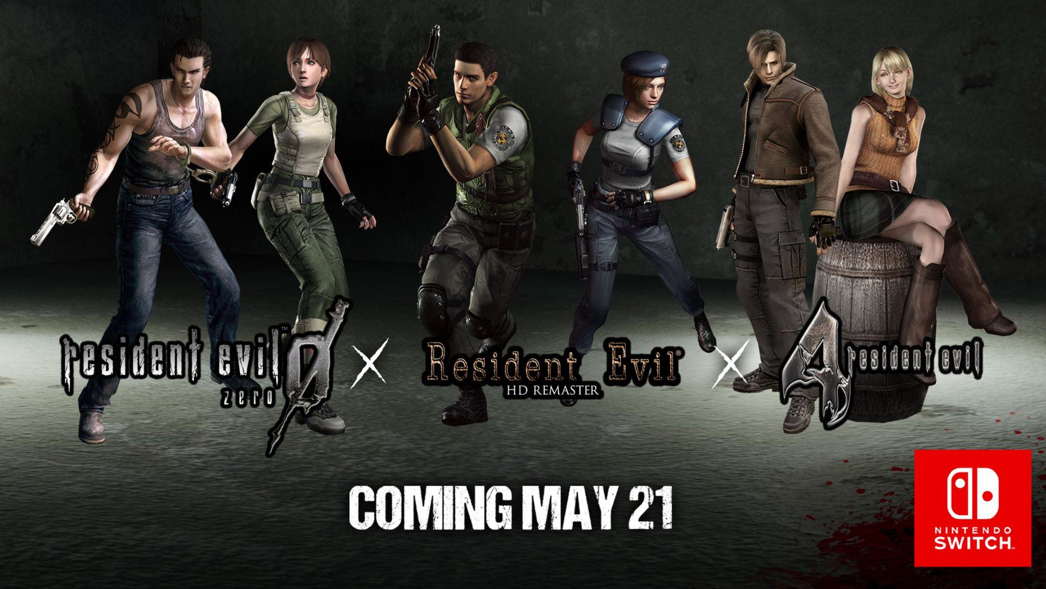 Resident Evil 0 HD Remaster 4 origins collection physical copy releaste date retail