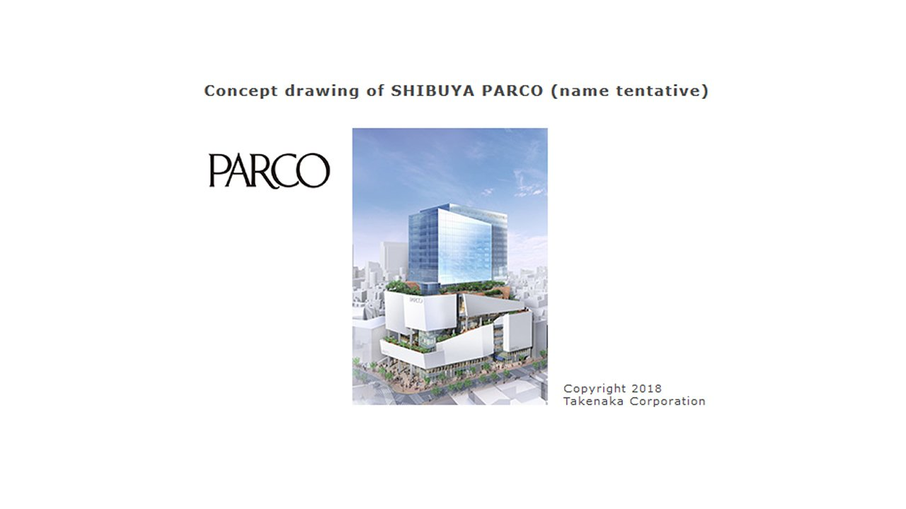 Concept for the Nintendo TOKYO Shibuya Parco building