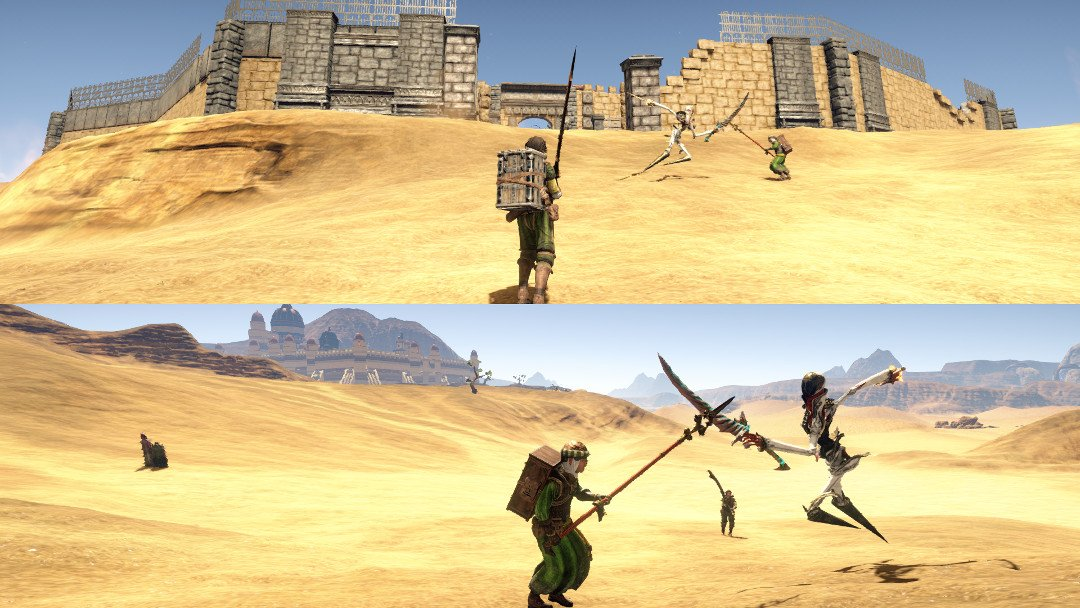Outward split-screen co-op screenshot