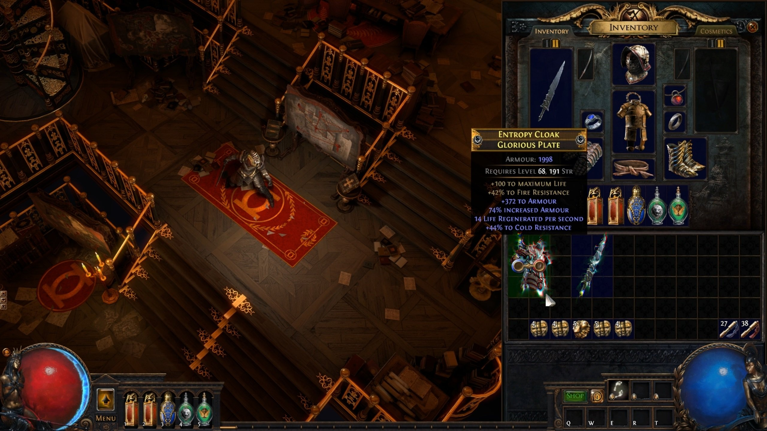 Path of Exile Synthesis - Fractured Items