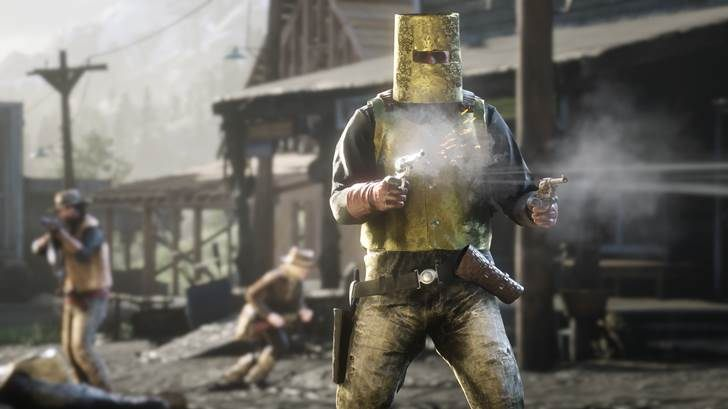 Red Dead Online Beta update february 26 Fool's Gold king of the hill