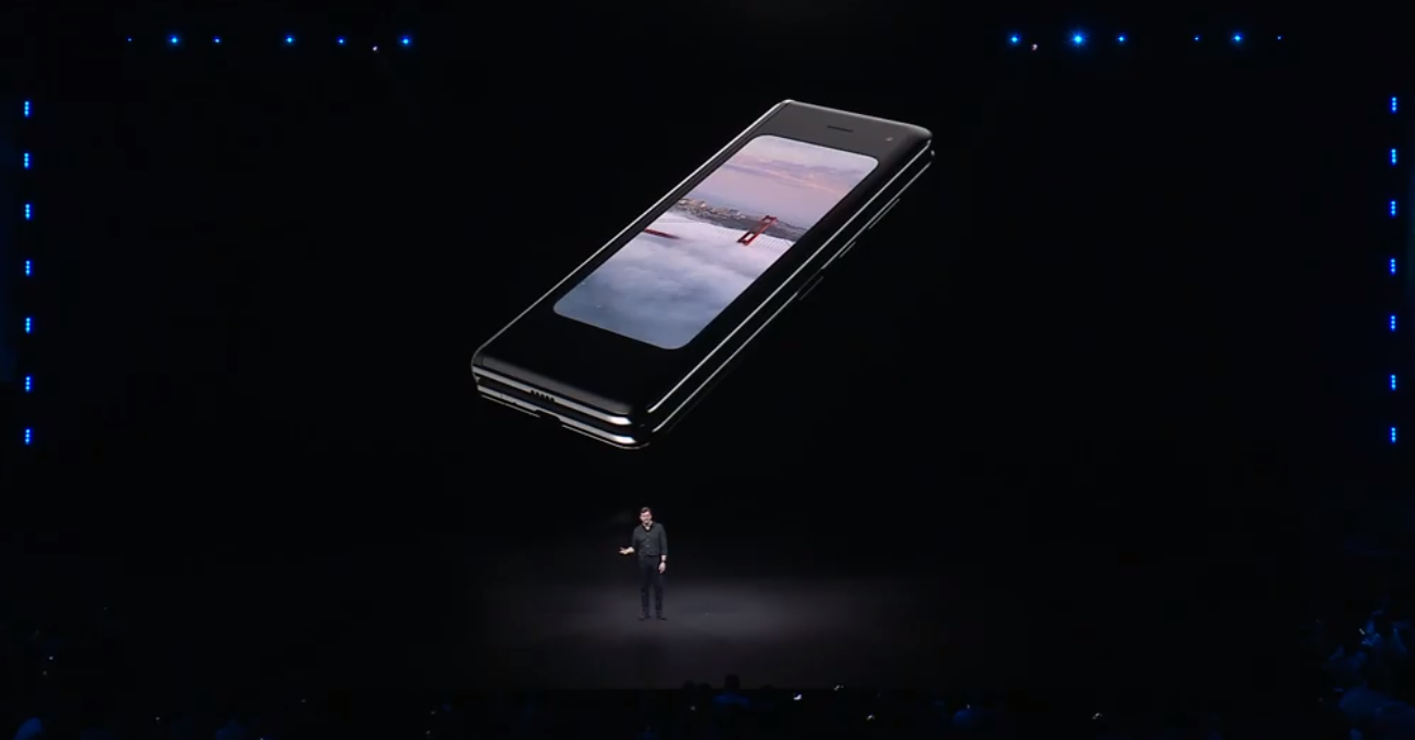 Samsung Galaxy Fold closed