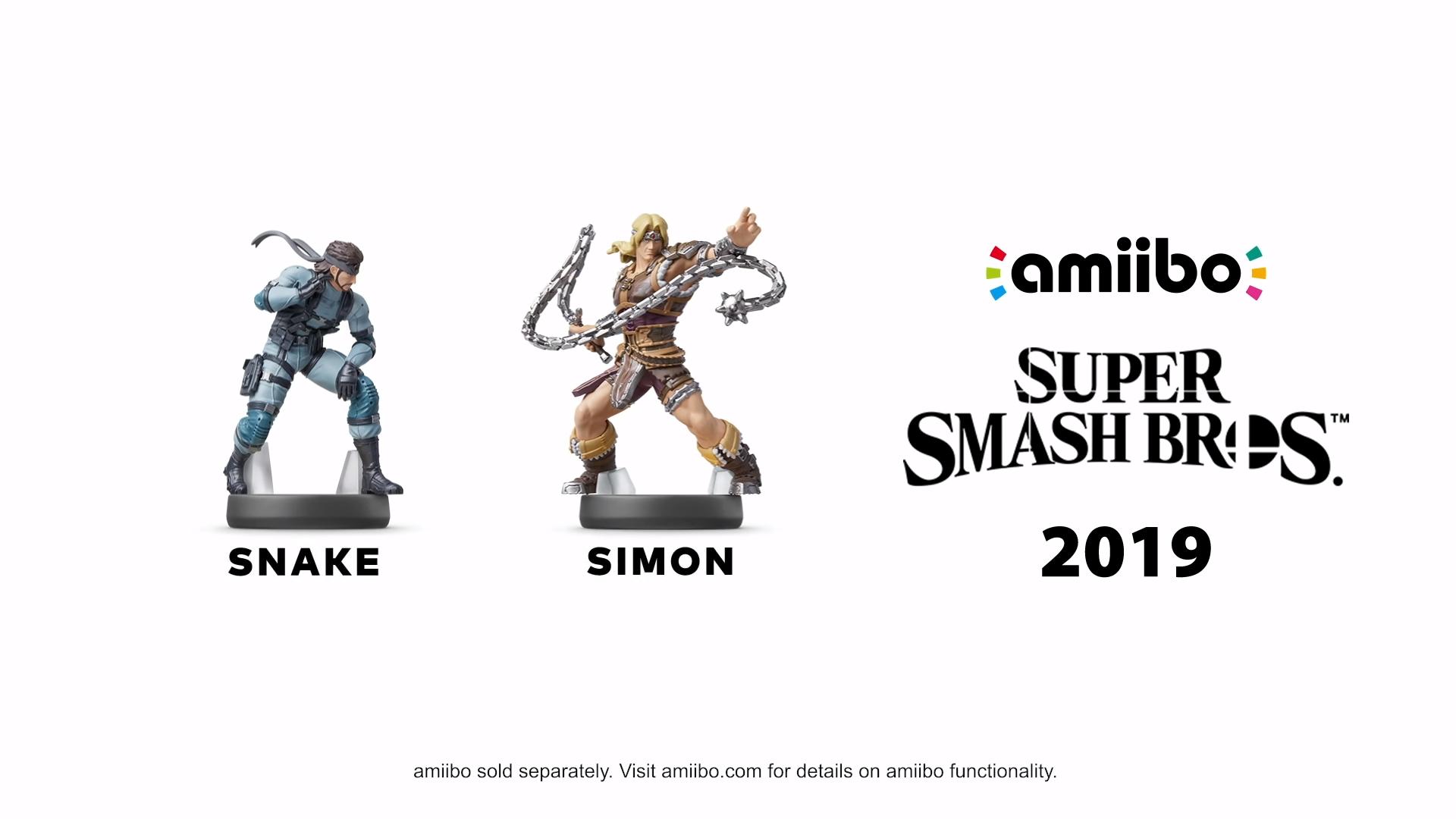 Snake Simon Amiibo