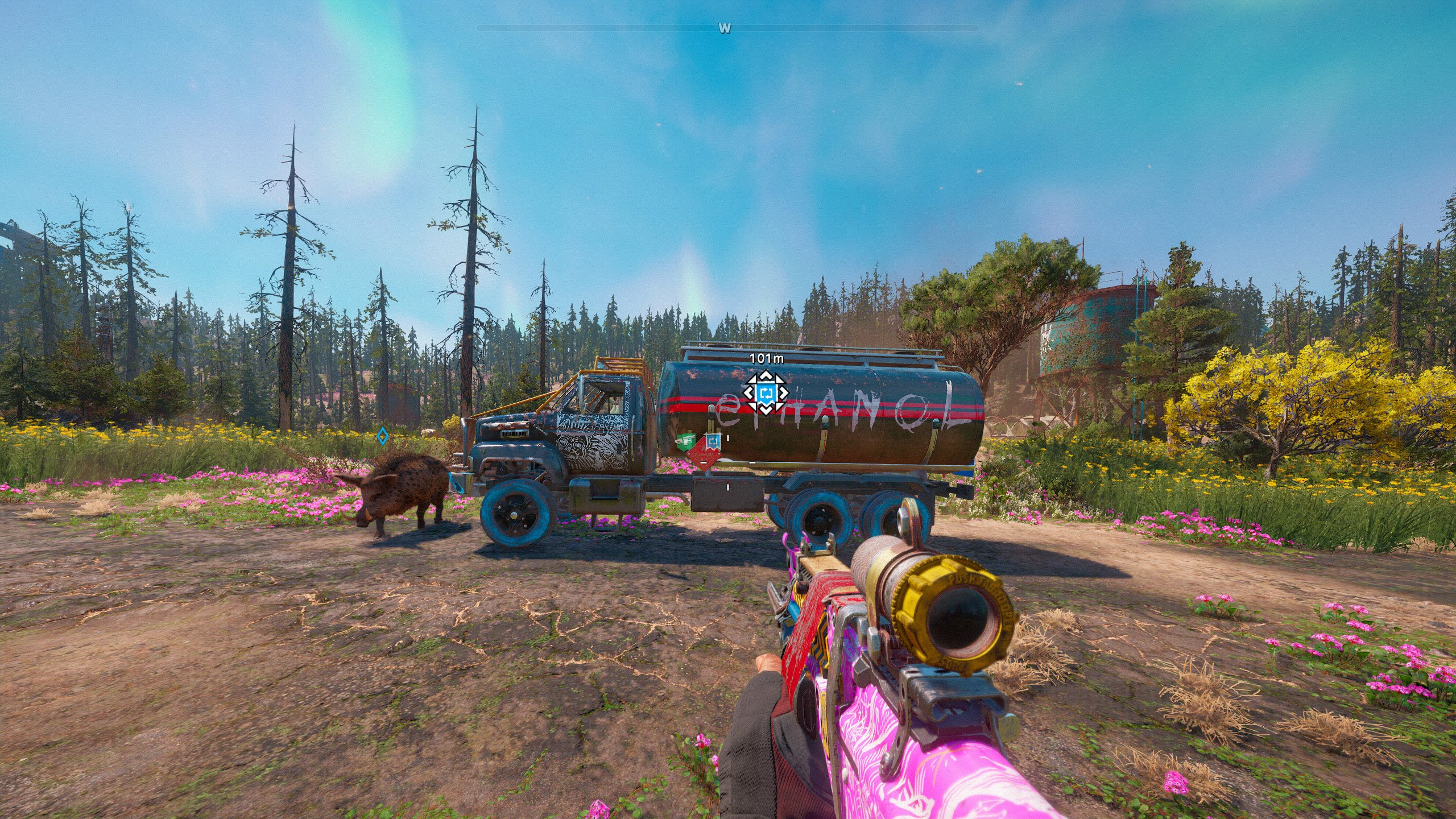 Get Ethanol from Tanker Trucks in Far Cry New Dawn